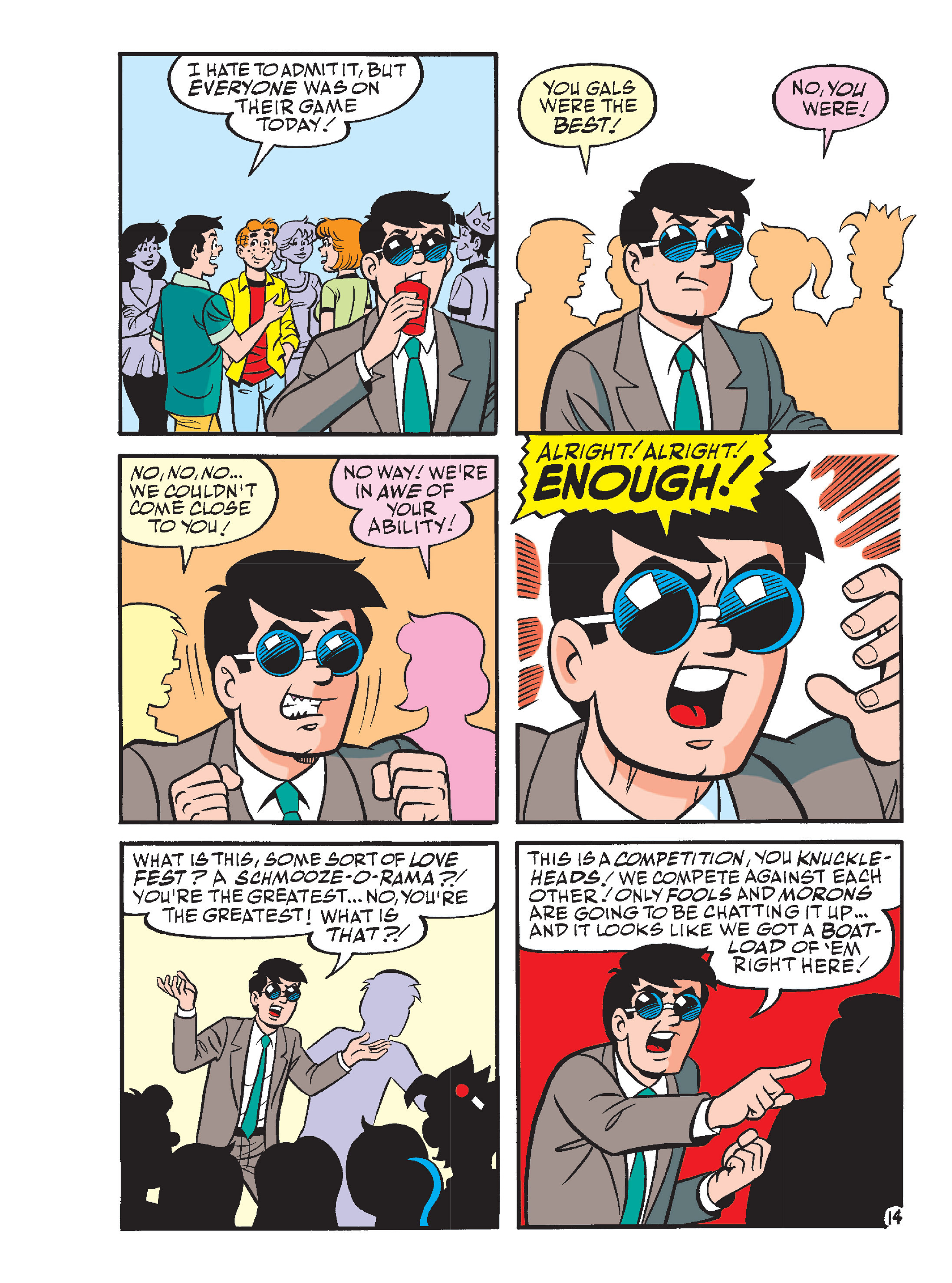 Read online Archie's Funhouse Double Digest comic -  Issue #13 - 49