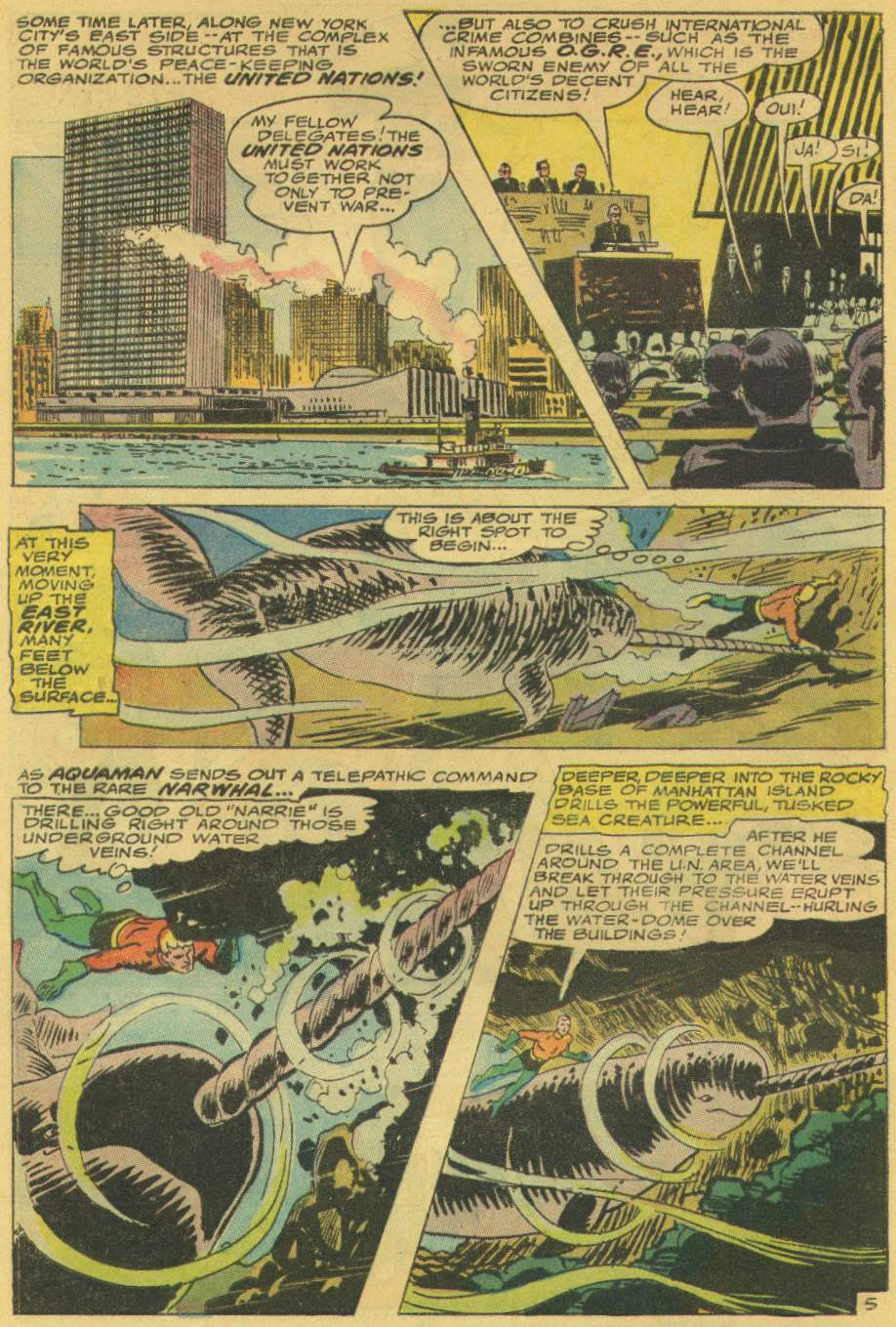 Read online Aquaman (1962) comic -  Issue #31 - 8