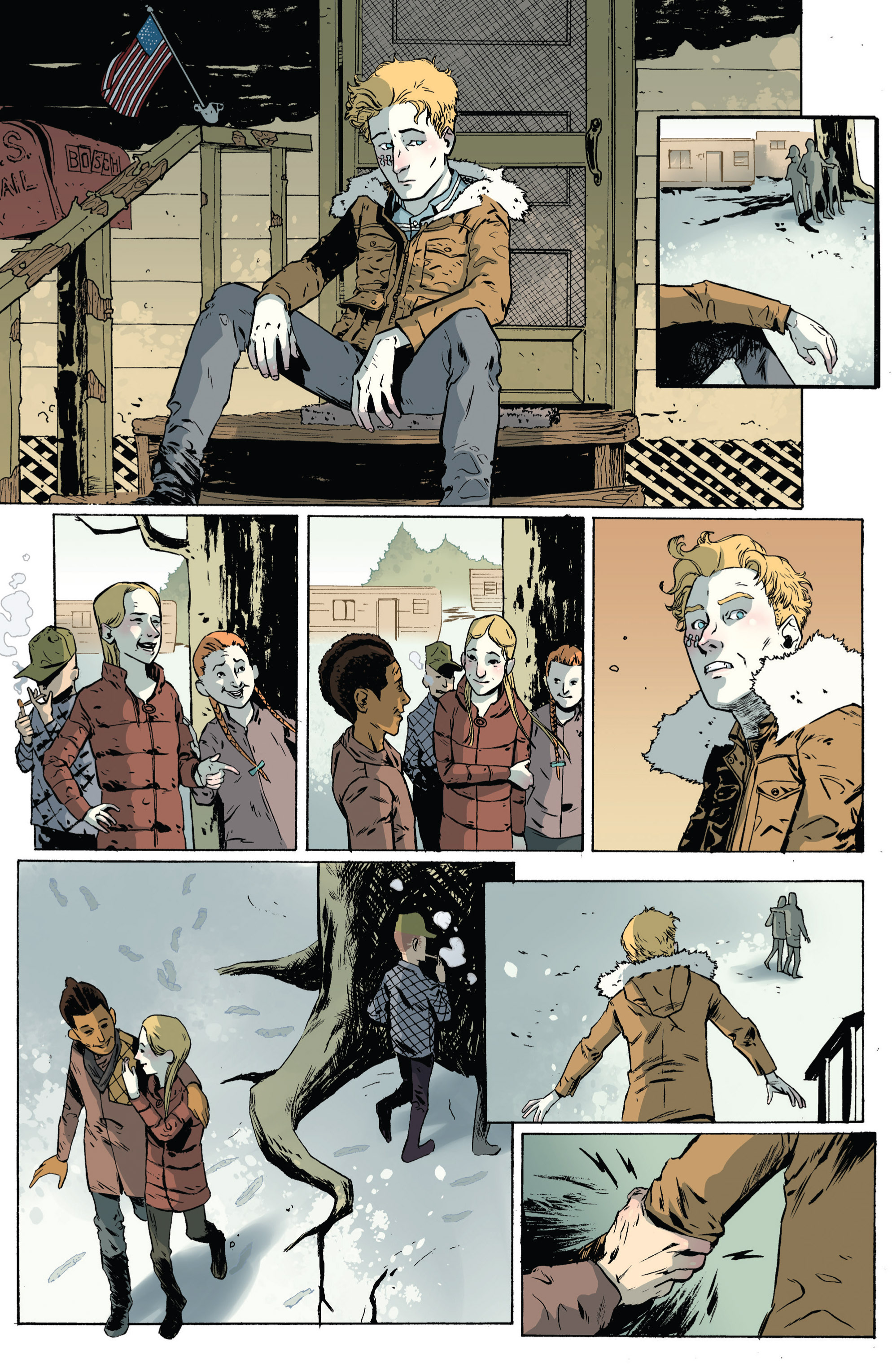 Read online Sheltered comic -  Issue #4 - 9