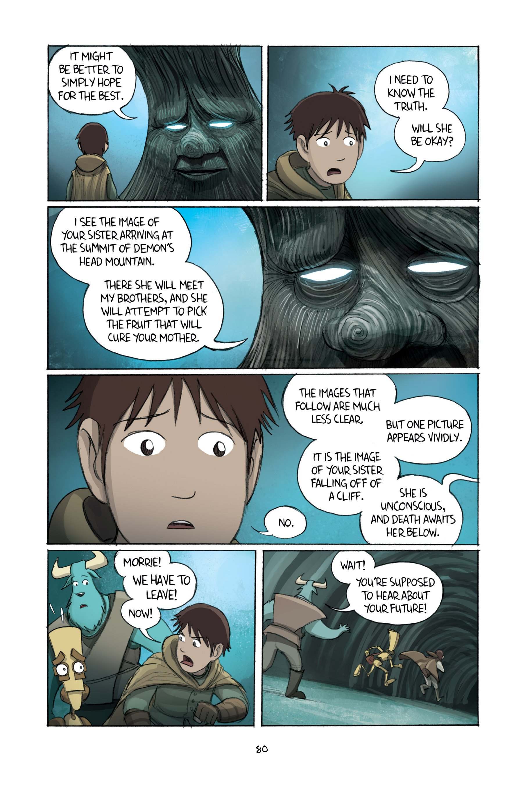 Read online Amulet comic -  Issue #2 - 81