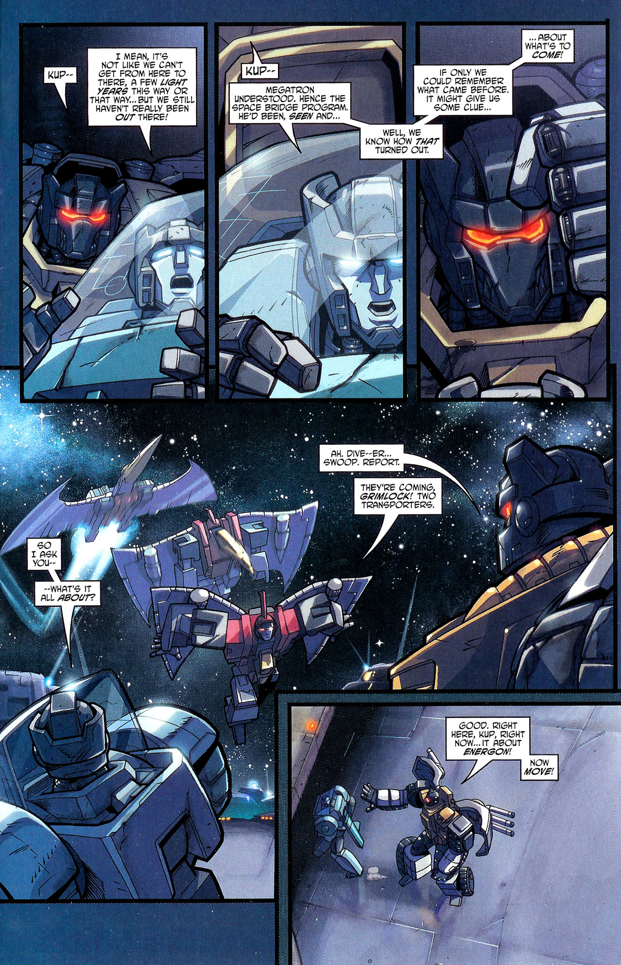 "Read online Transformers War Within: ""The Dark Ages"" comic -  Issue #1 - 10"