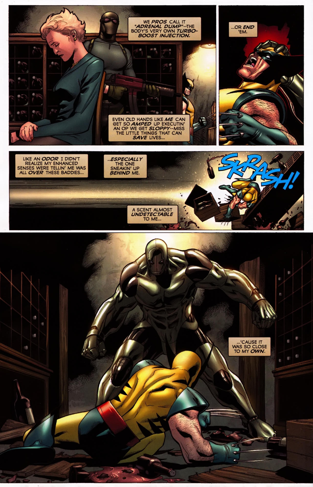 Read online Wolverine: First Class comic -  Issue #5 - 14