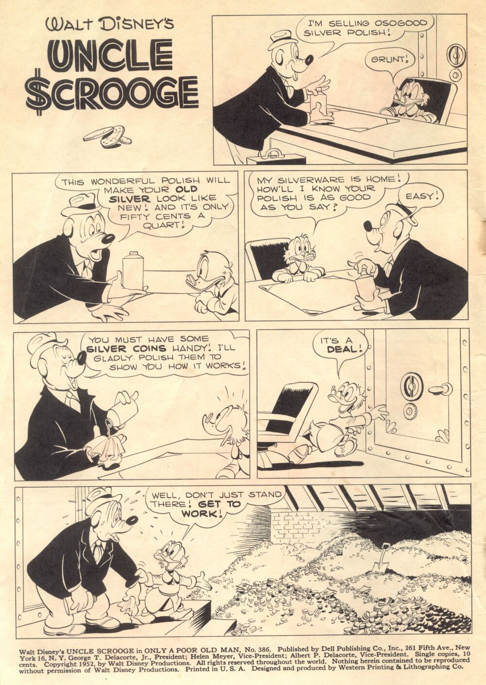 Read online Uncle Scrooge (1953) comic -  Issue #1 - 2