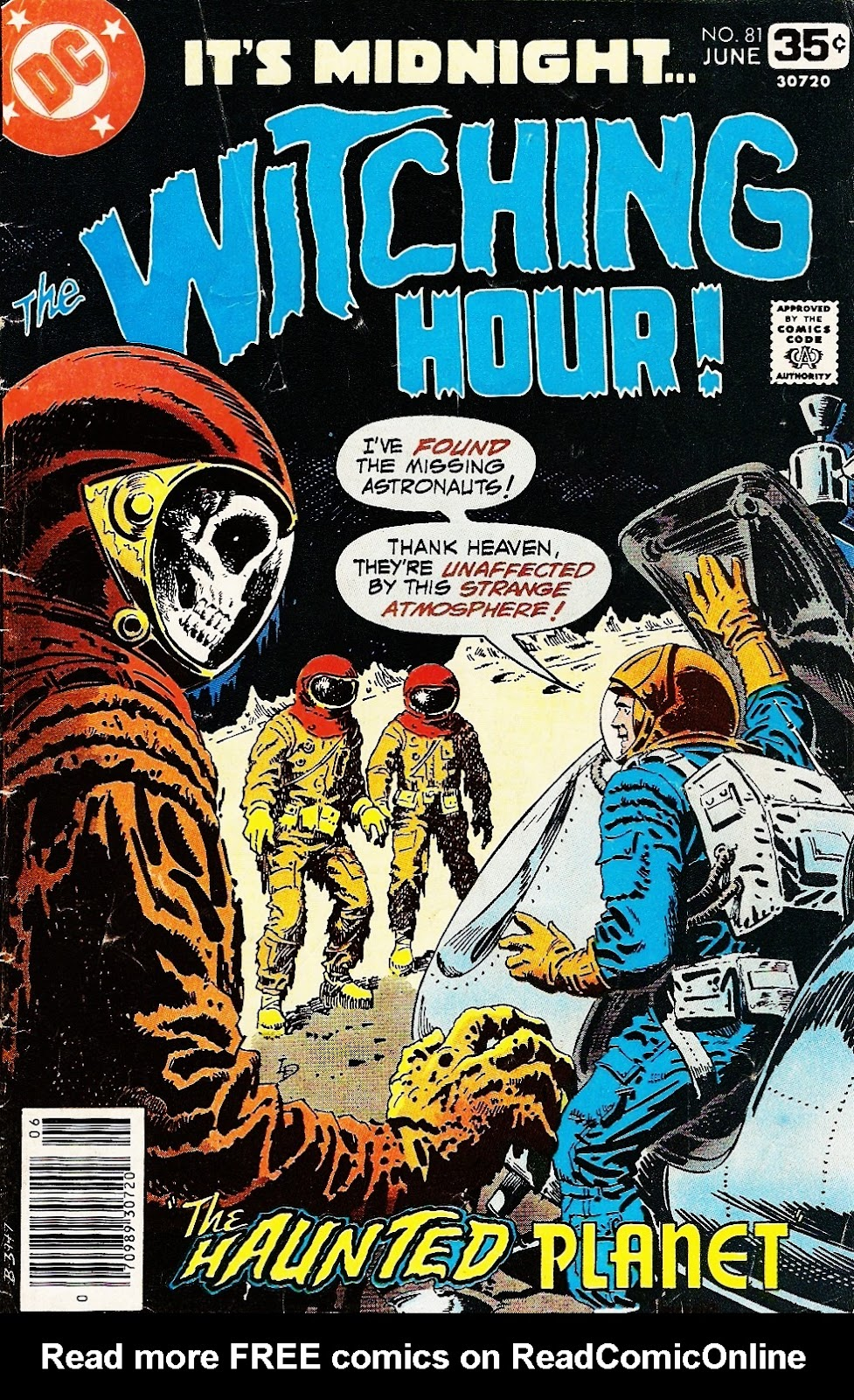 The Witching Hour (1969) issue 81 - Page 1