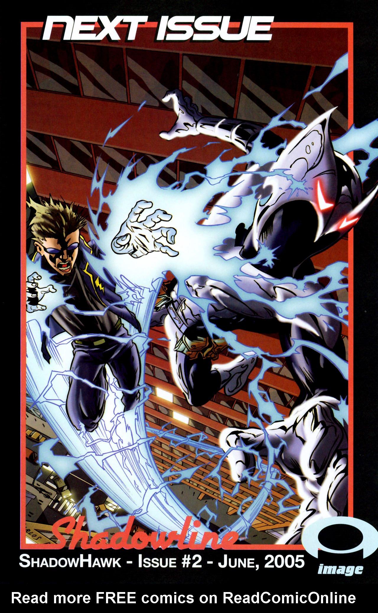 Read online ShadowHawk (2005) comic -  Issue #1 - 25