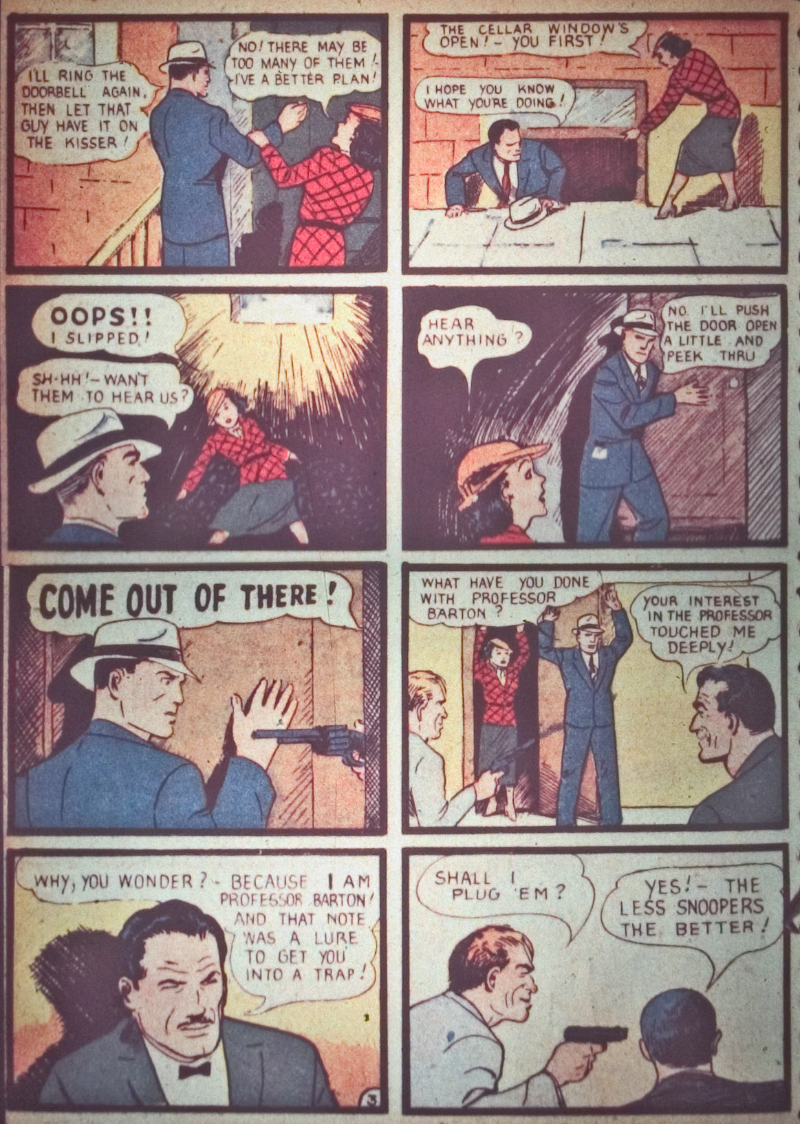 Read online Detective Comics (1937) comic -  Issue #26 - 56