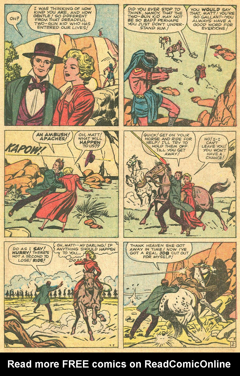 Read online Two-Gun Kid comic -  Issue #61 - 29