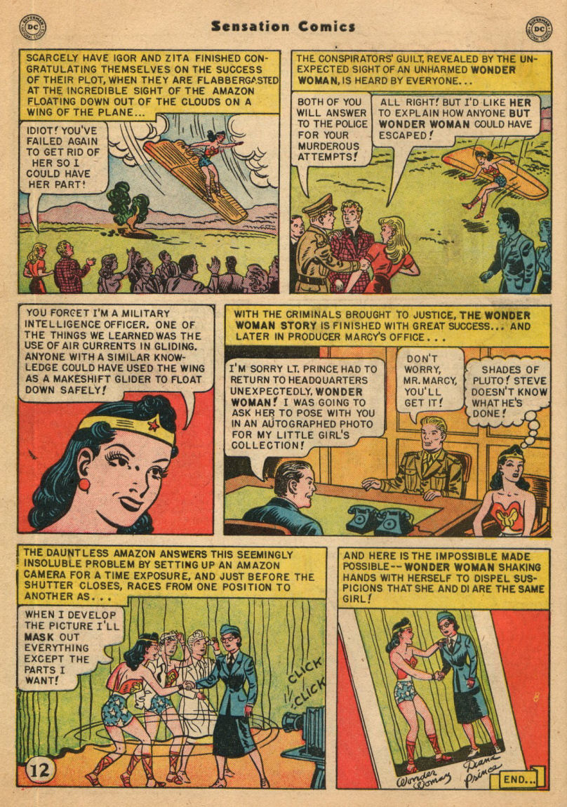 Read online Sensation (Mystery) Comics comic -  Issue #100 - 14