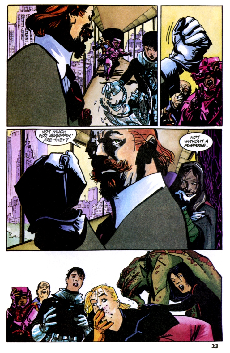Read online Shadow Cabinet comic -  Issue #10 - 25