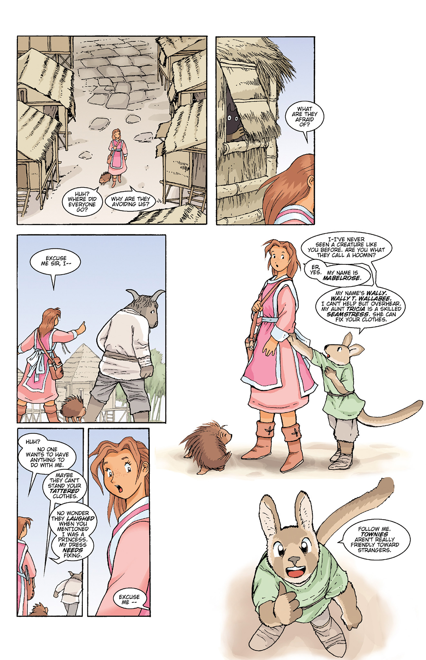 Read online Courageous Princess comic -  Issue # TPB 1 - 176