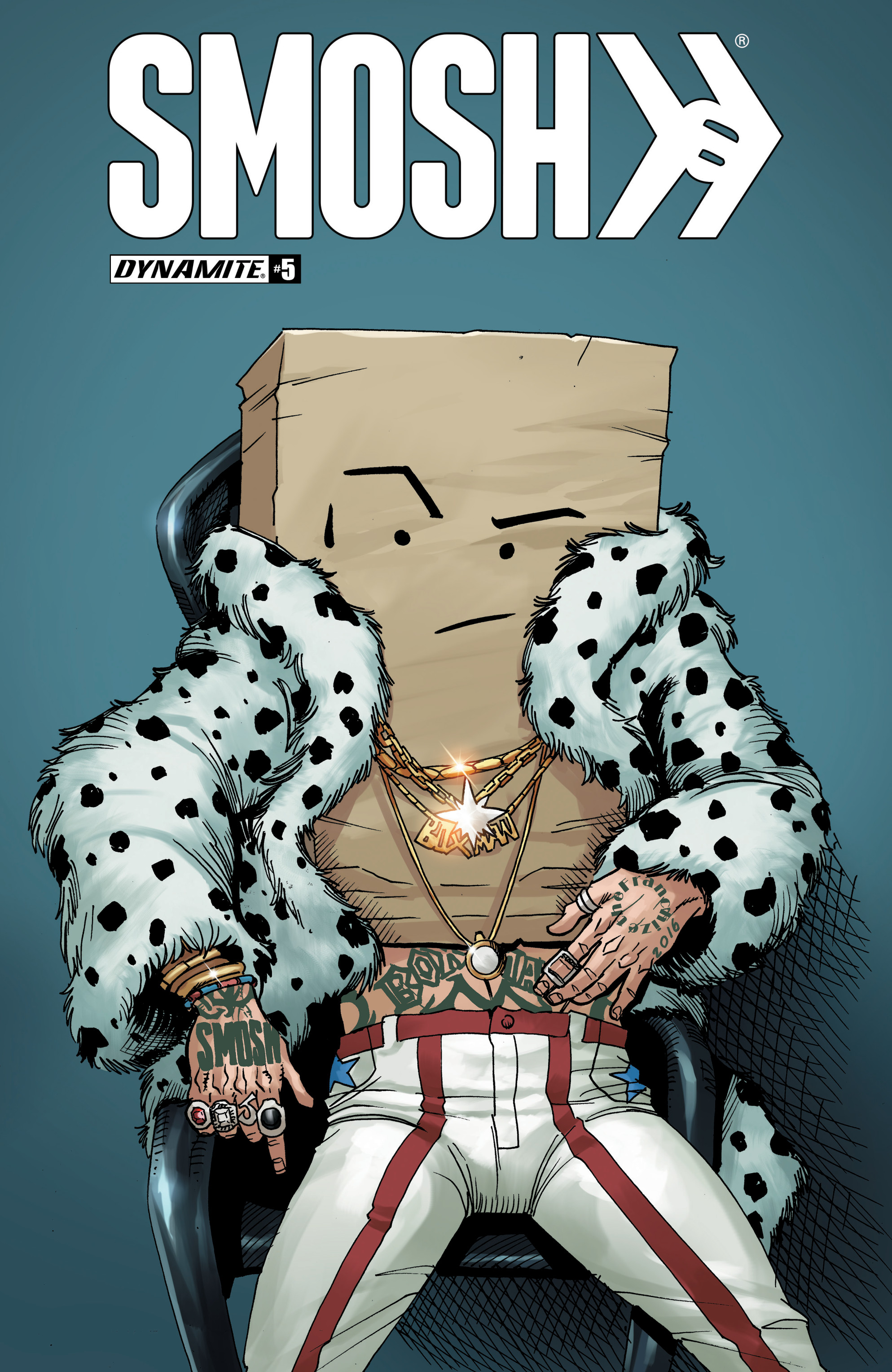 Read online Smosh comic -  Issue #5 - 1
