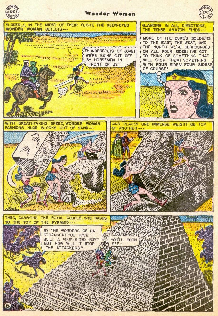Read online Wonder Woman (1942) comic -  Issue #76 - 18