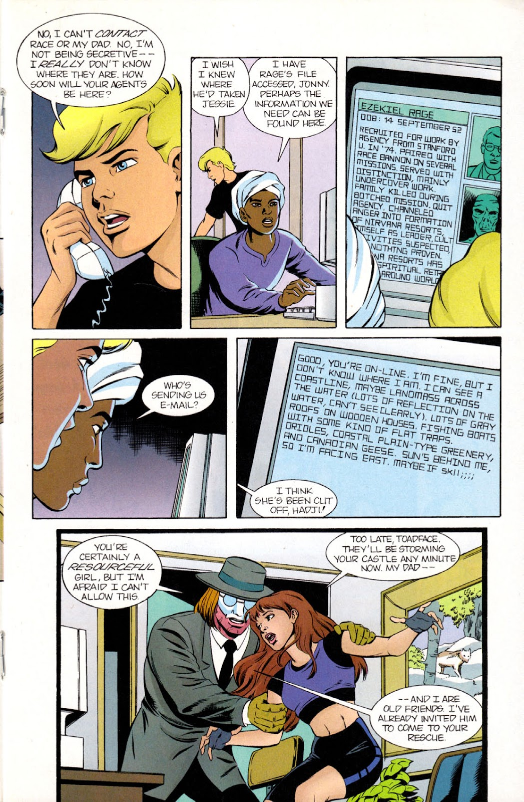 Read online The Real Adventures of Jonny Quest comic -  Issue #9 - 19