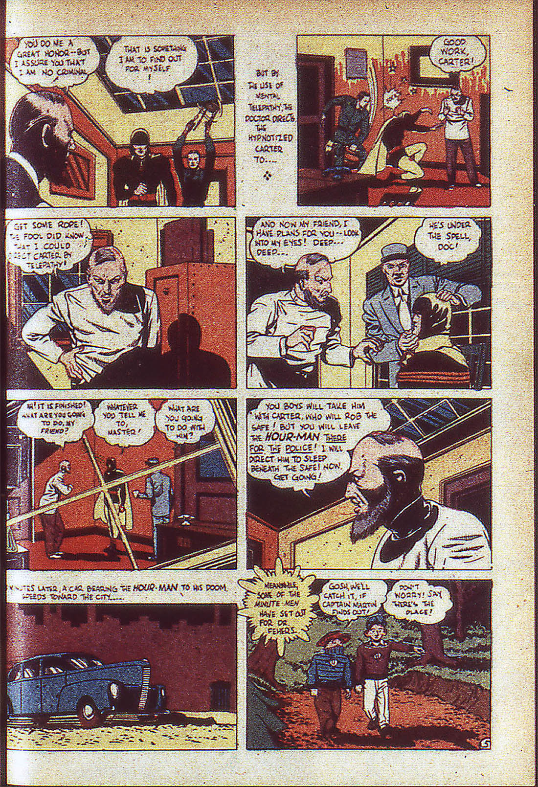 Read online Adventure Comics (1938) comic -  Issue #59 - 8