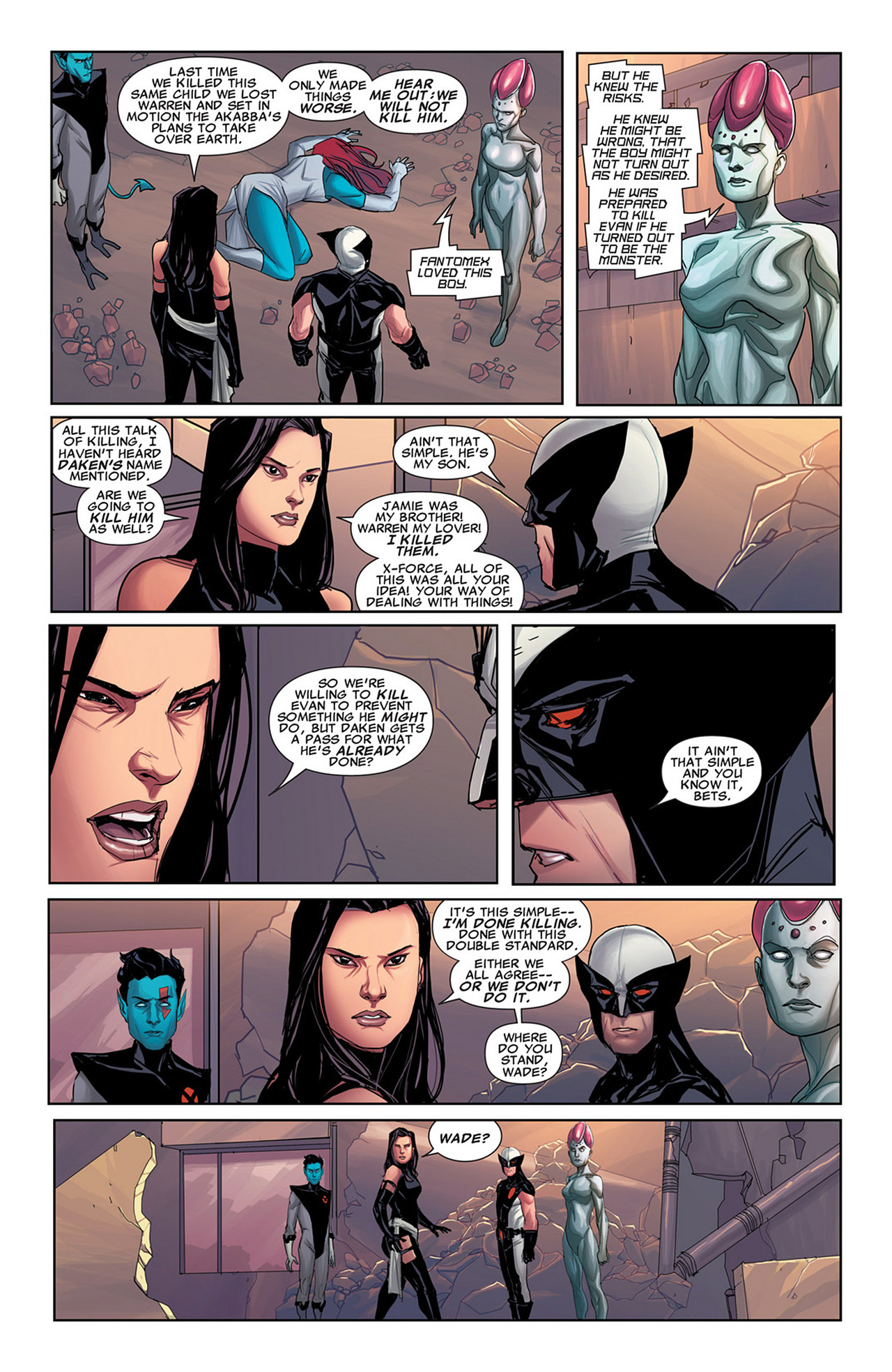 Read online Uncanny X-Force (2010) comic -  Issue #31 - 20