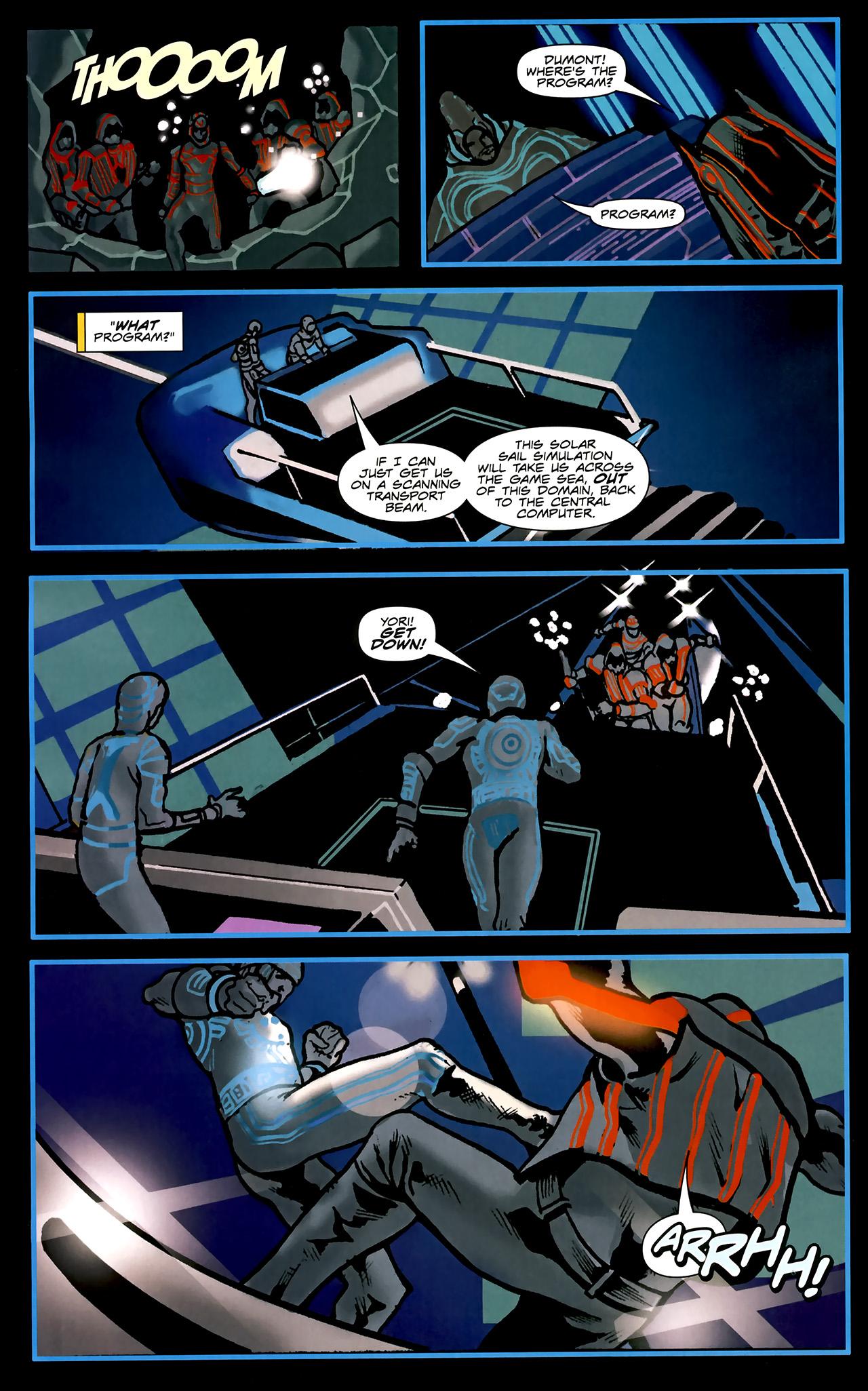 Read online TRON: Original Movie Adaptation comic -  Issue #2 - 19