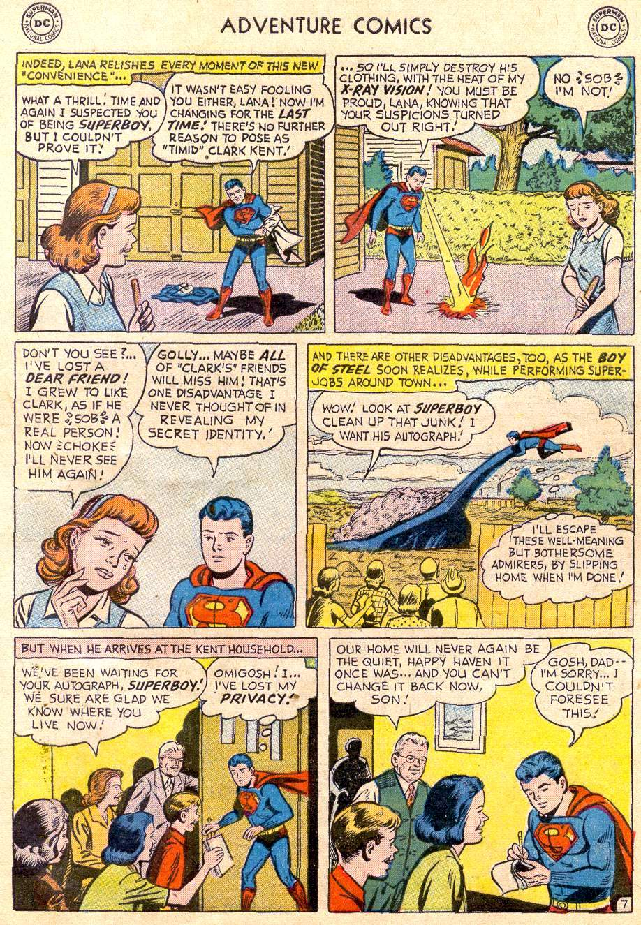 Read online Adventure Comics (1938) comic -  Issue #235 - 9