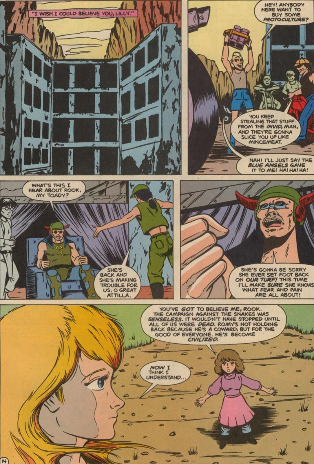 Robotech The New Generation issue 6 - Page 18