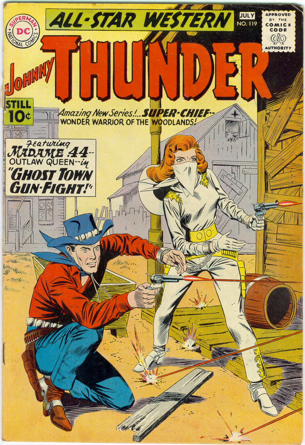 Read online All-Star Western (1951) comic -  Issue #119 - 1