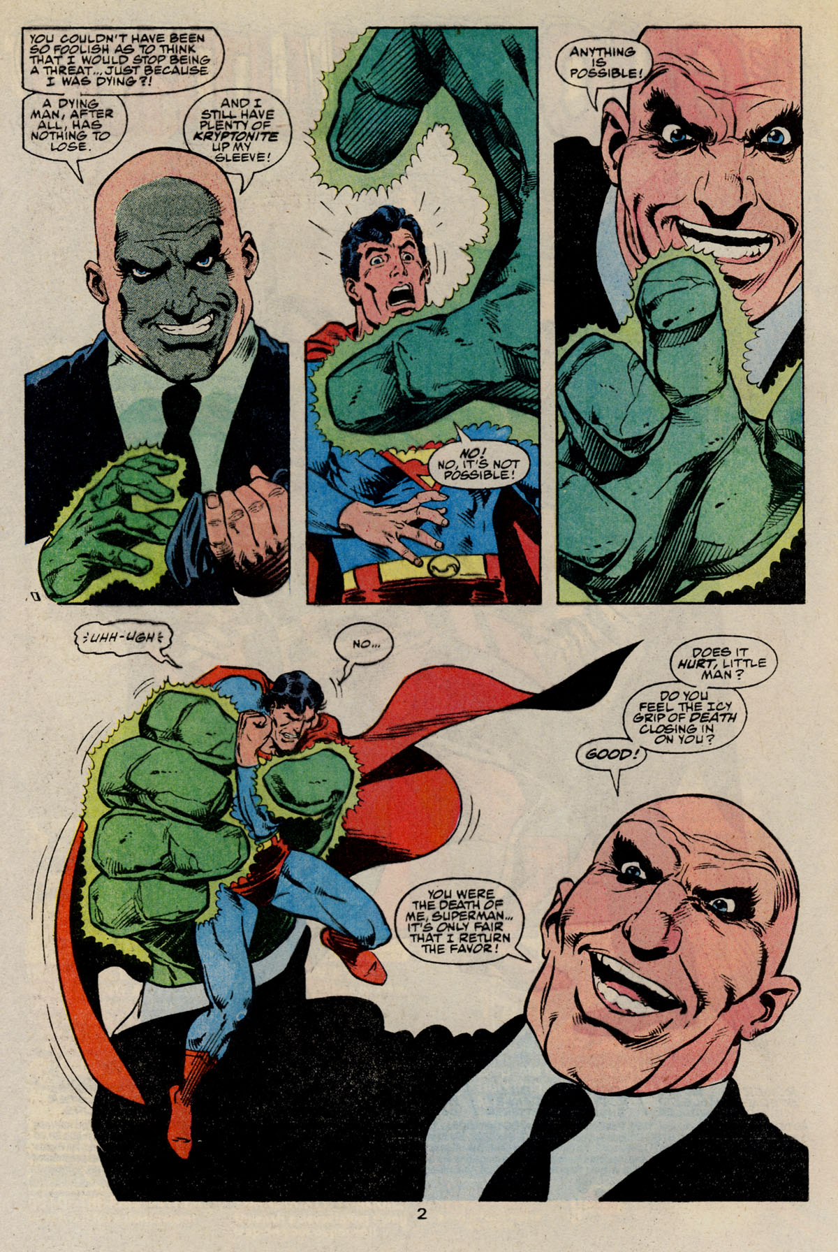 Read online Action Comics (1938) comic -  Issue #668 - 4