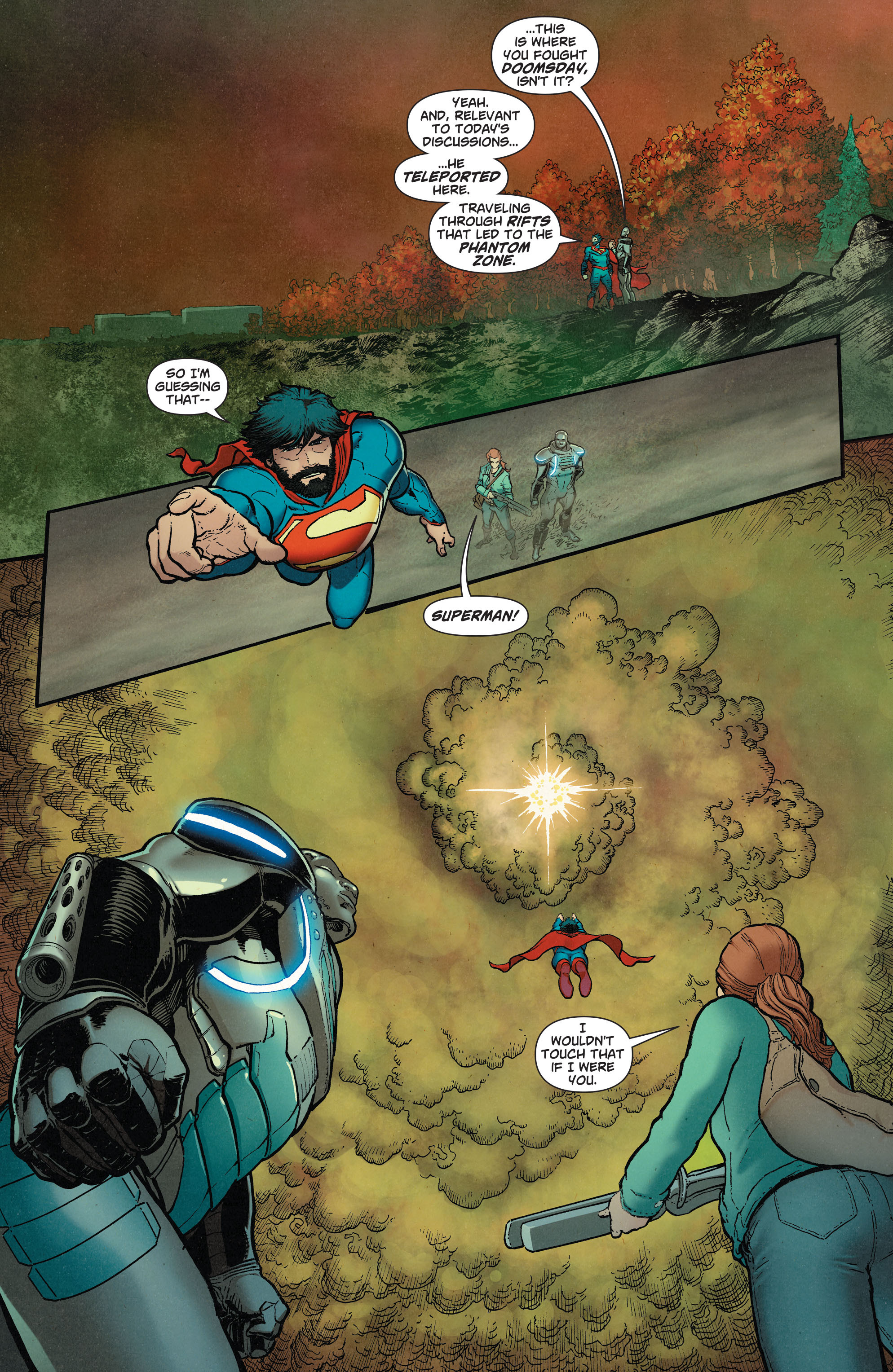 Read online Action Comics (2011) comic -  Issue #37 - 14