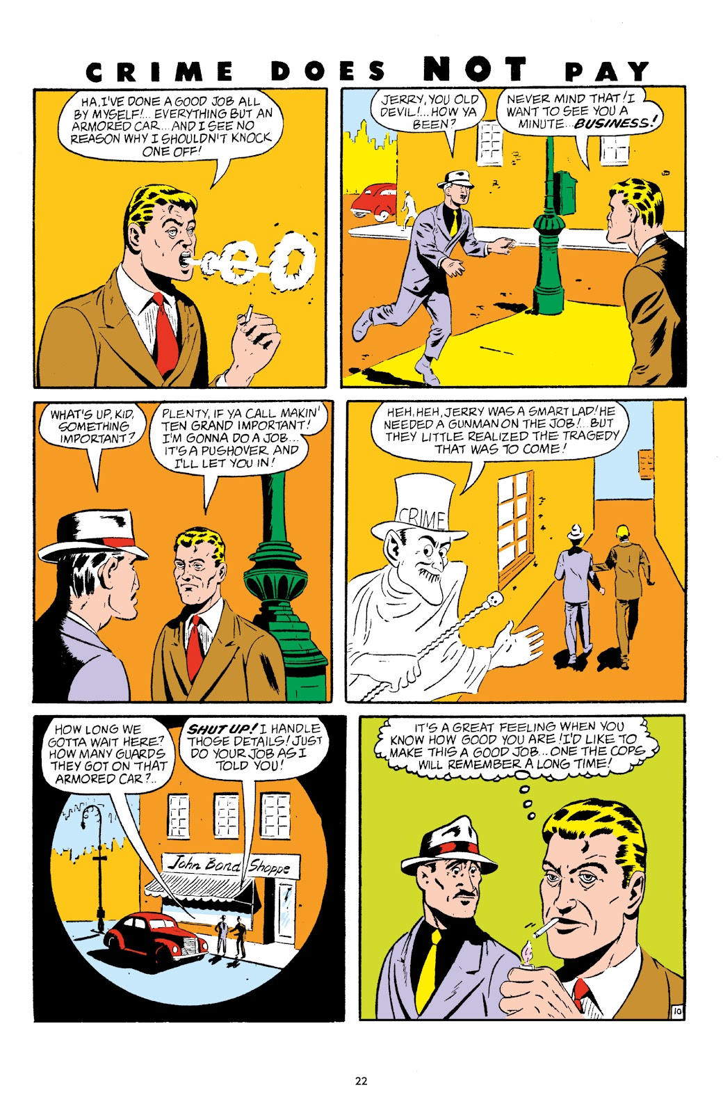 Read online Crime Does Not Pay Archives comic -  Issue # TPB 5 (Part 1) - 22