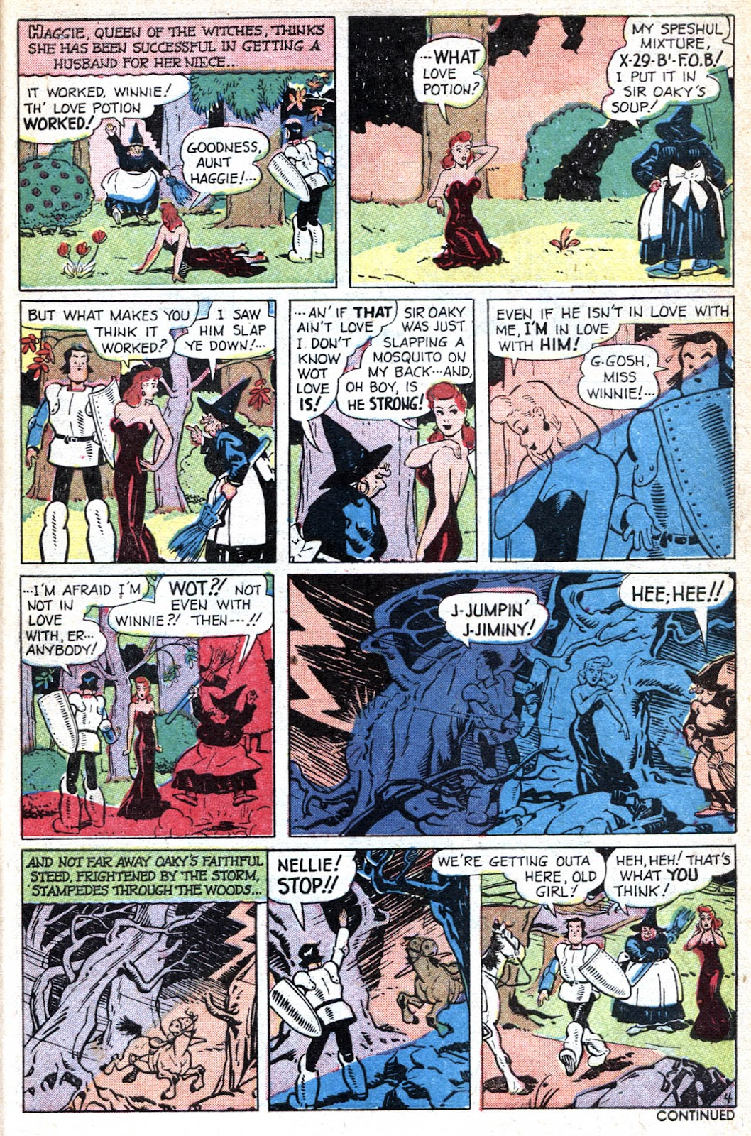 Read online Famous Funnies comic -  Issue #190 - 43
