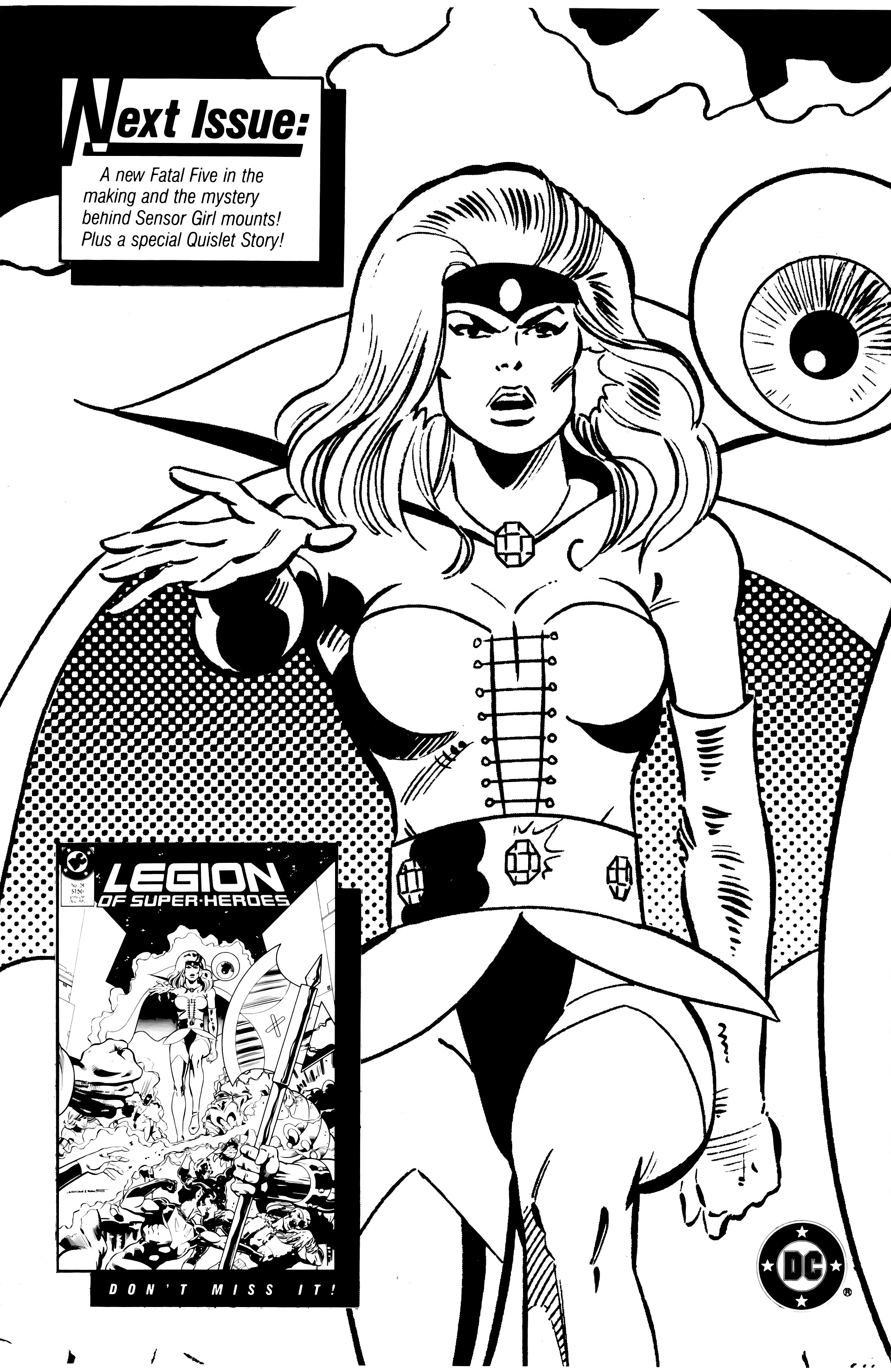 Legion of Super-Heroes (1984) 20 Page 32