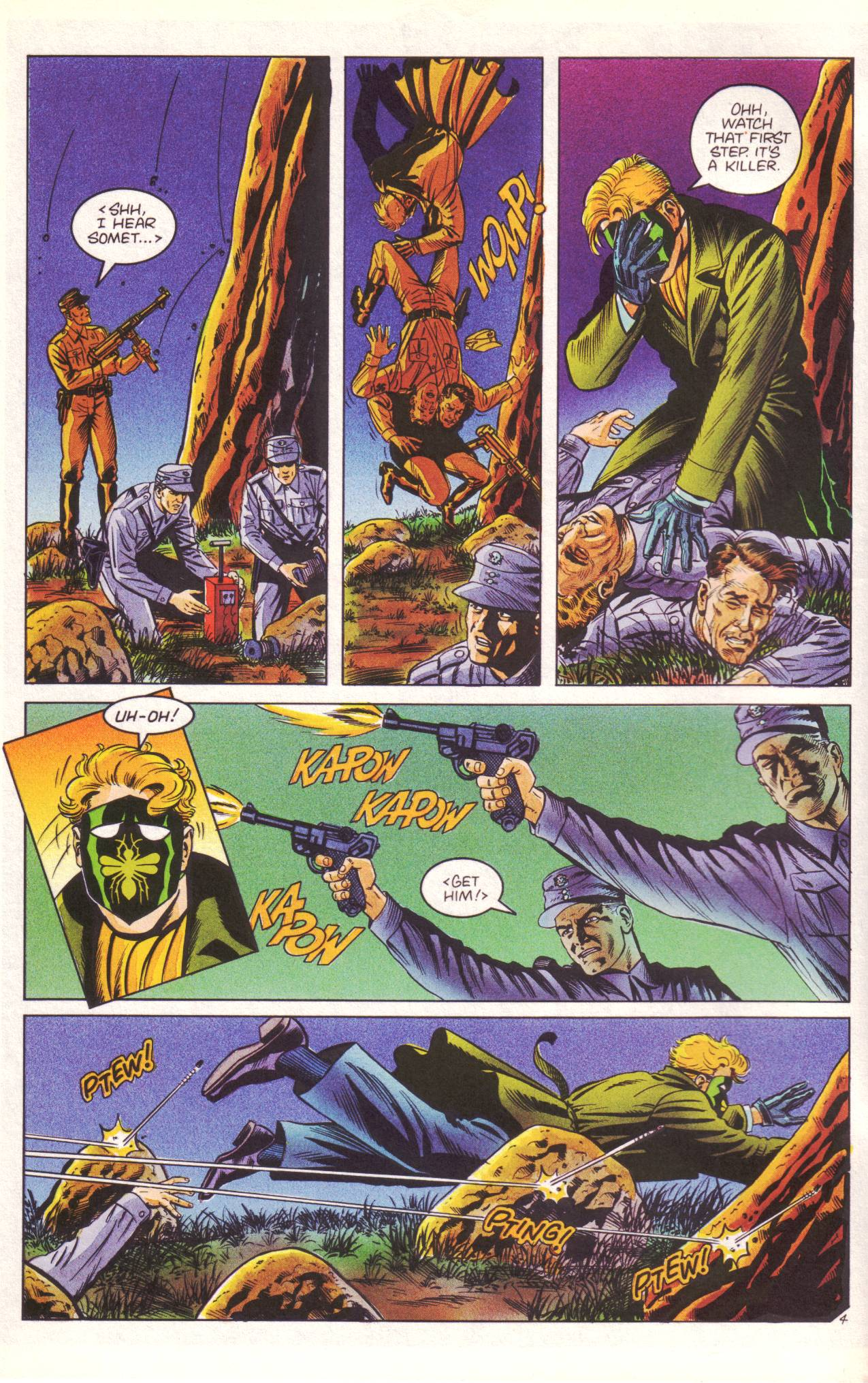 Read online Sting of The Green Hornet comic -  Issue #3 - 5