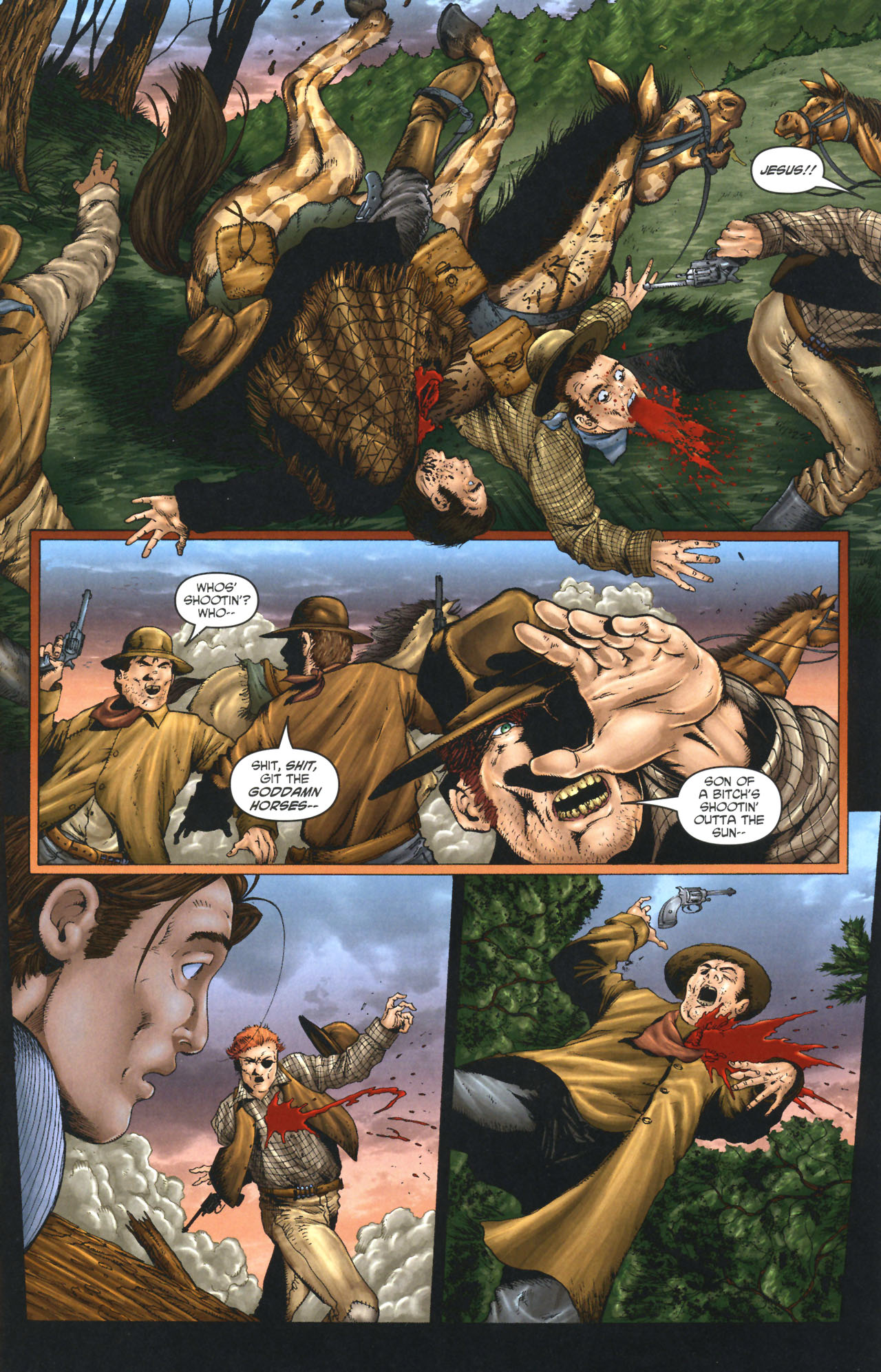 Read online Garth Ennis' Streets of Glory comic -  Issue #1 - 13