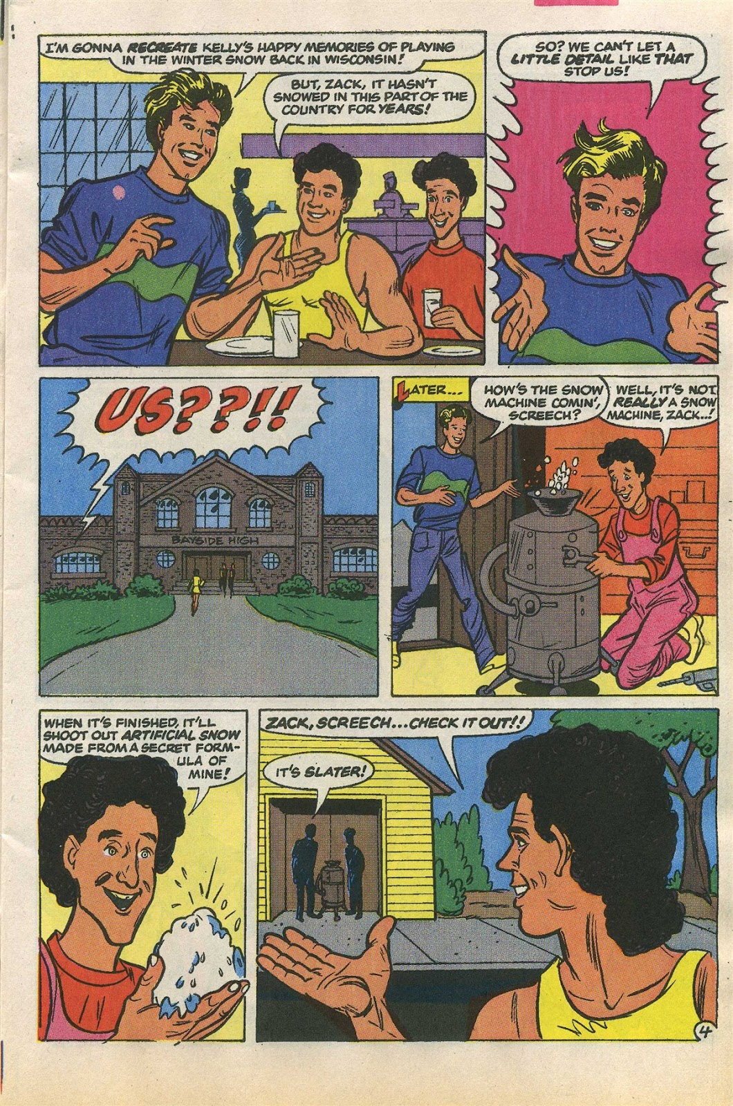 Read online Saved By The Bell comic -  Issue #1 - 7
