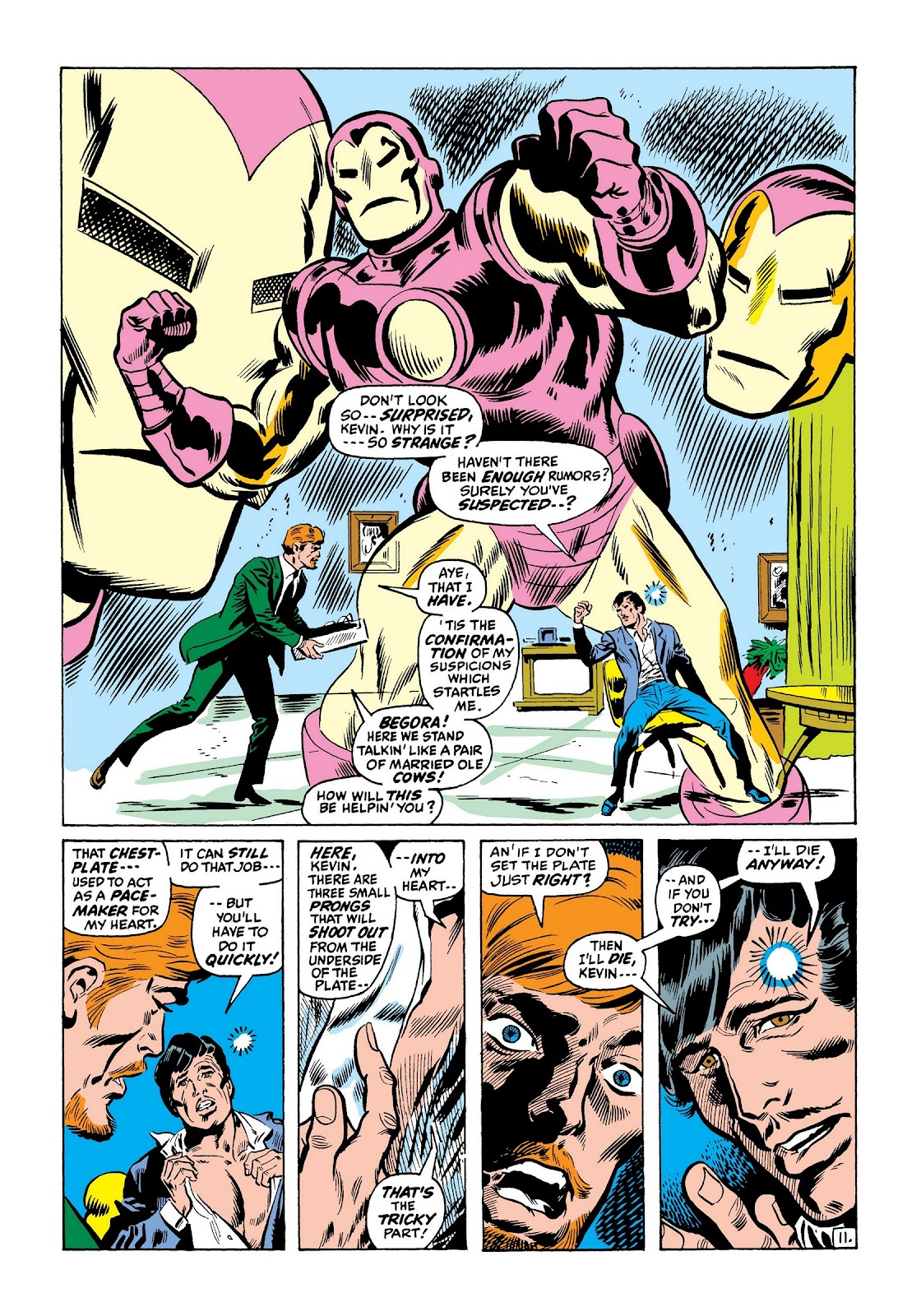 Read online Marvel Masterworks: The Invincible Iron Man comic -  Issue # TPB 7 (Part 3) - 60