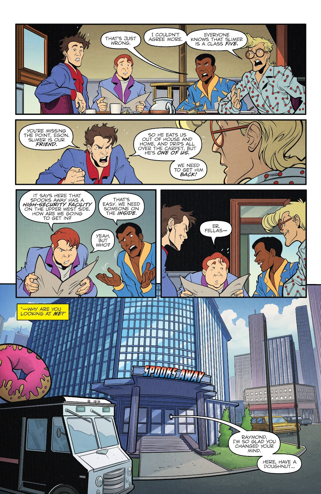 Read online Ghostbusters 35th Anniversary: The Real Ghostbusters comic -  Issue # Full - 16