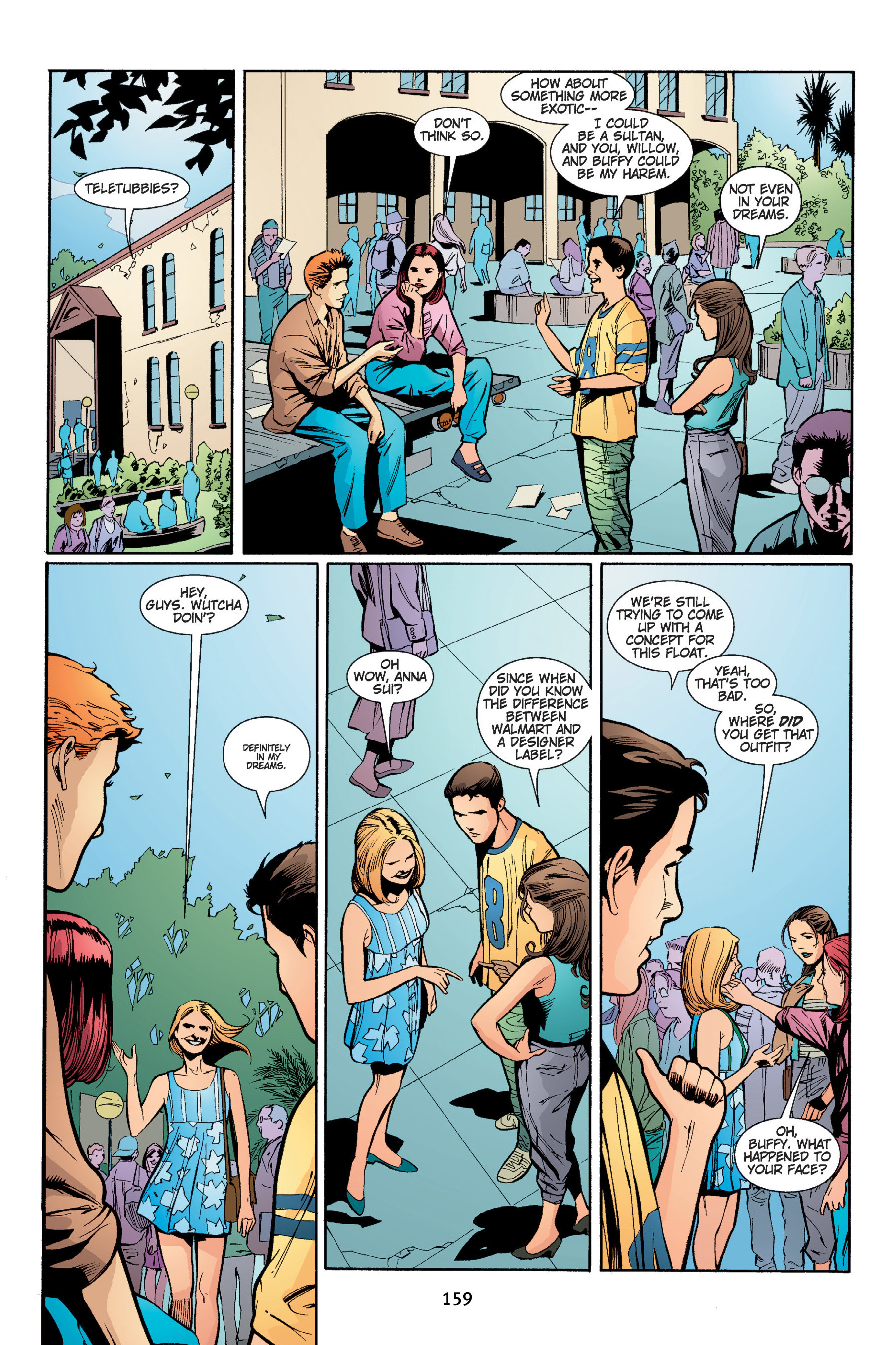 Read online Buffy the Vampire Slayer: Omnibus comic -  Issue # TPB 4 - 160