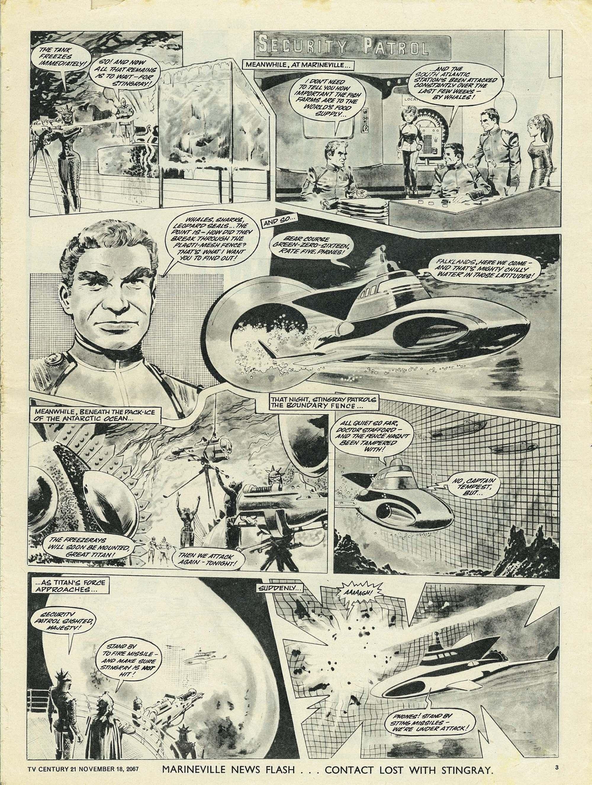 Read online TV Century 21 (TV 21) comic -  Issue #148 - 3