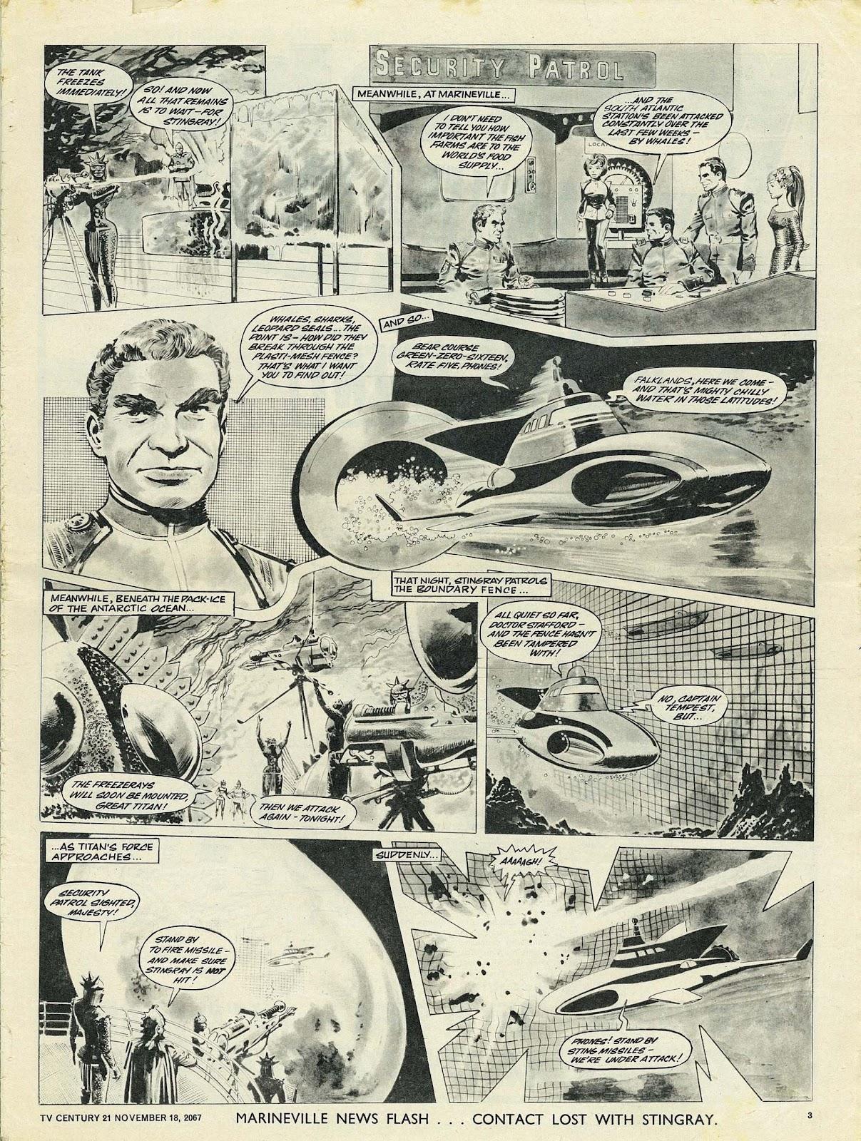 TV Century 21 (TV 21) issue 148 - Page 3