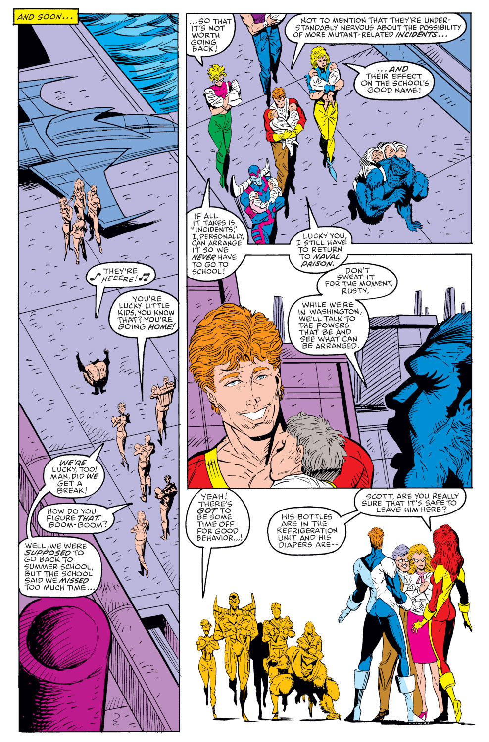 Read online X-Factor (1986) comic -  Issue #40 - 7
