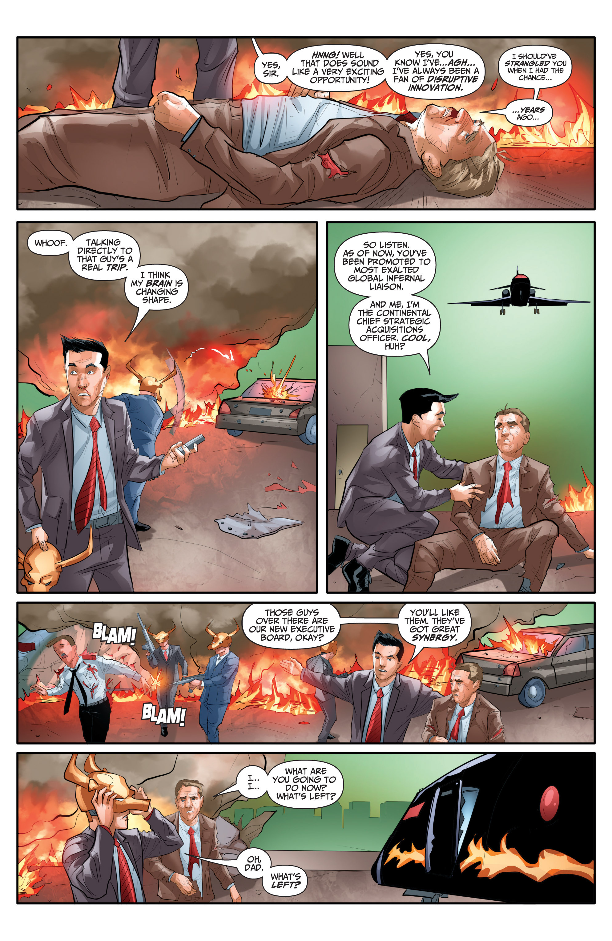 Read online Archer and Armstrong comic -  Issue #Archer and Armstrong _TPB 7 - 74