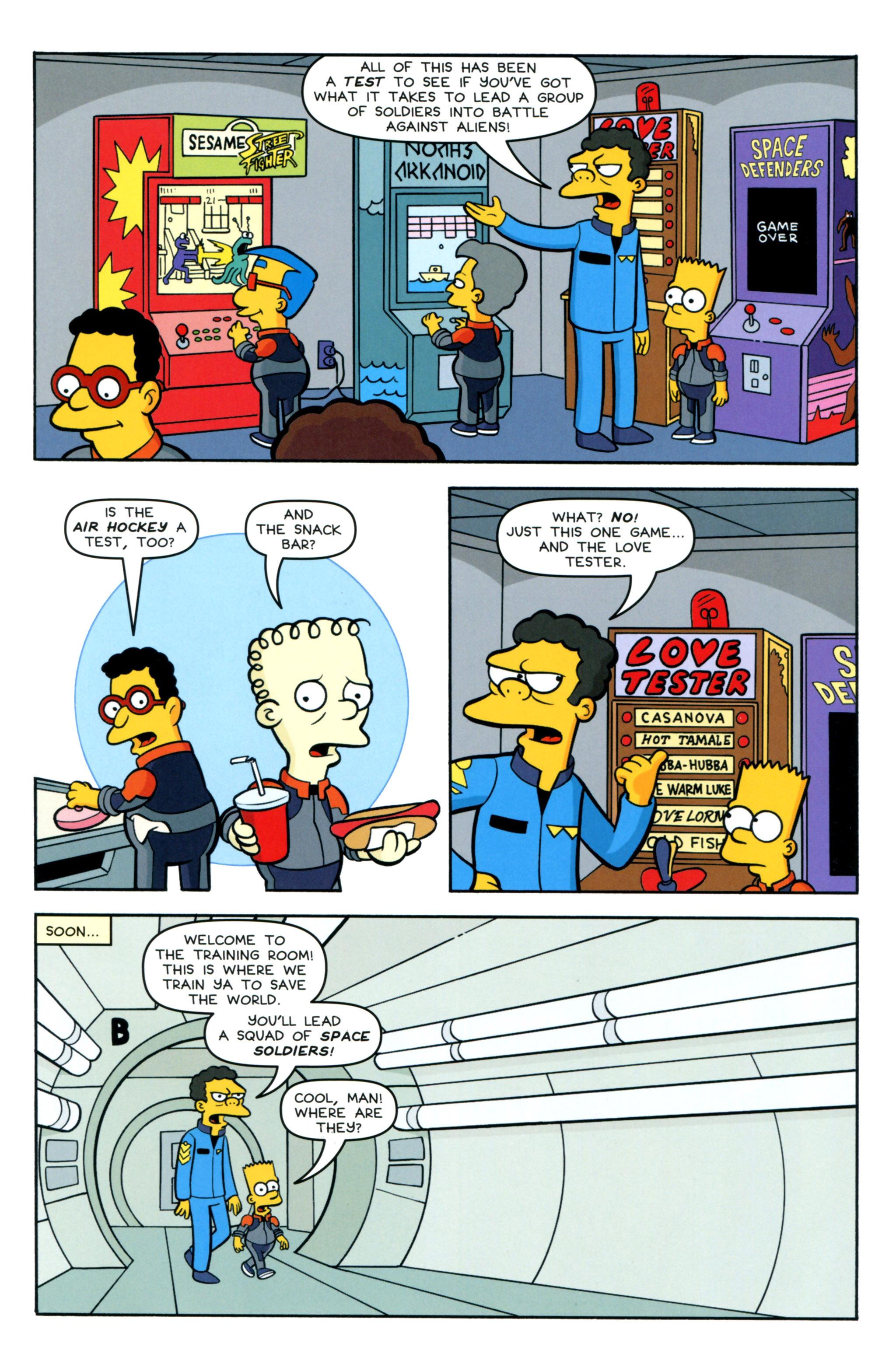 Read online Simpsons Comics comic -  Issue #218 - 19