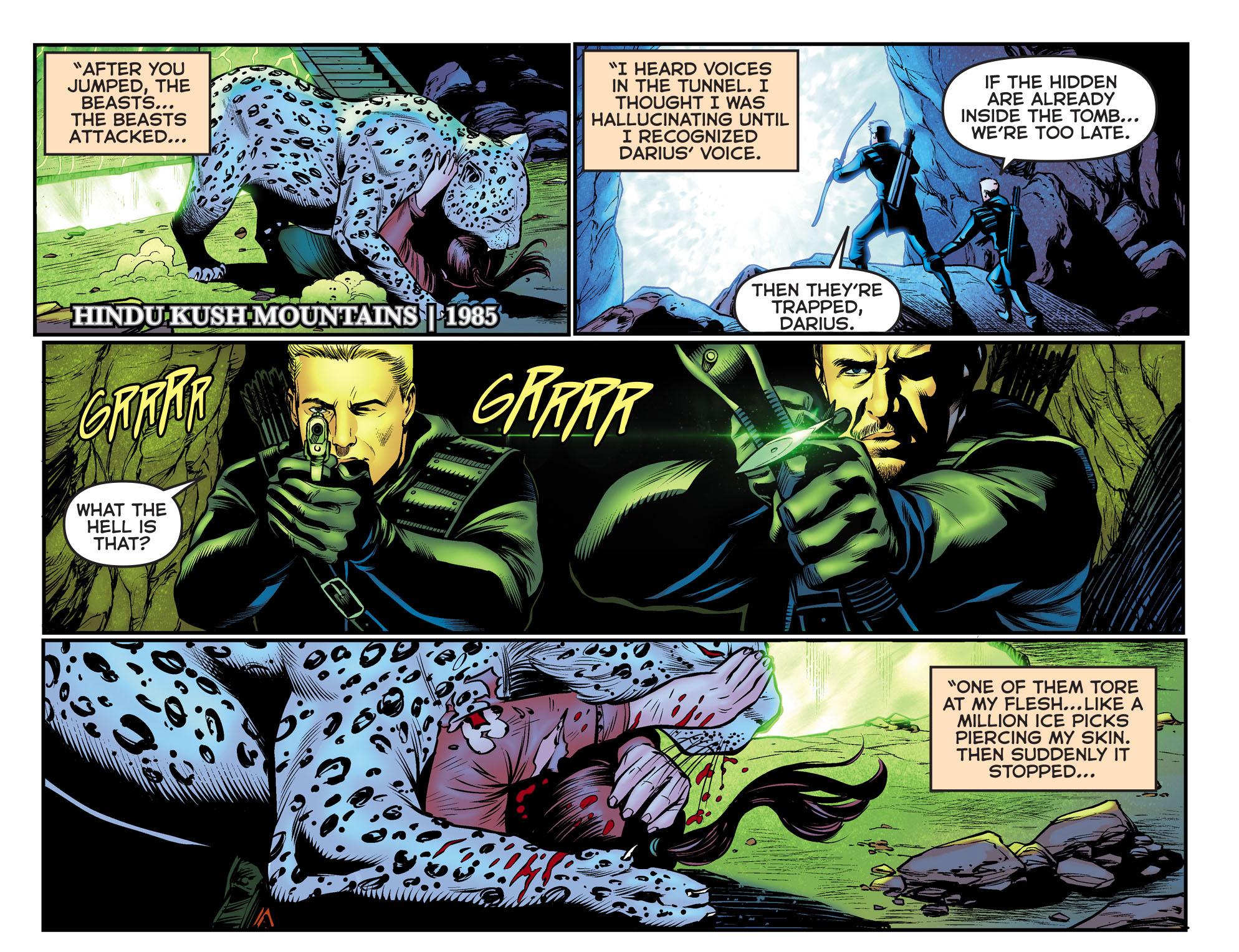 Read online Arrow: The Dark Archer comic -  Issue #9 - 17