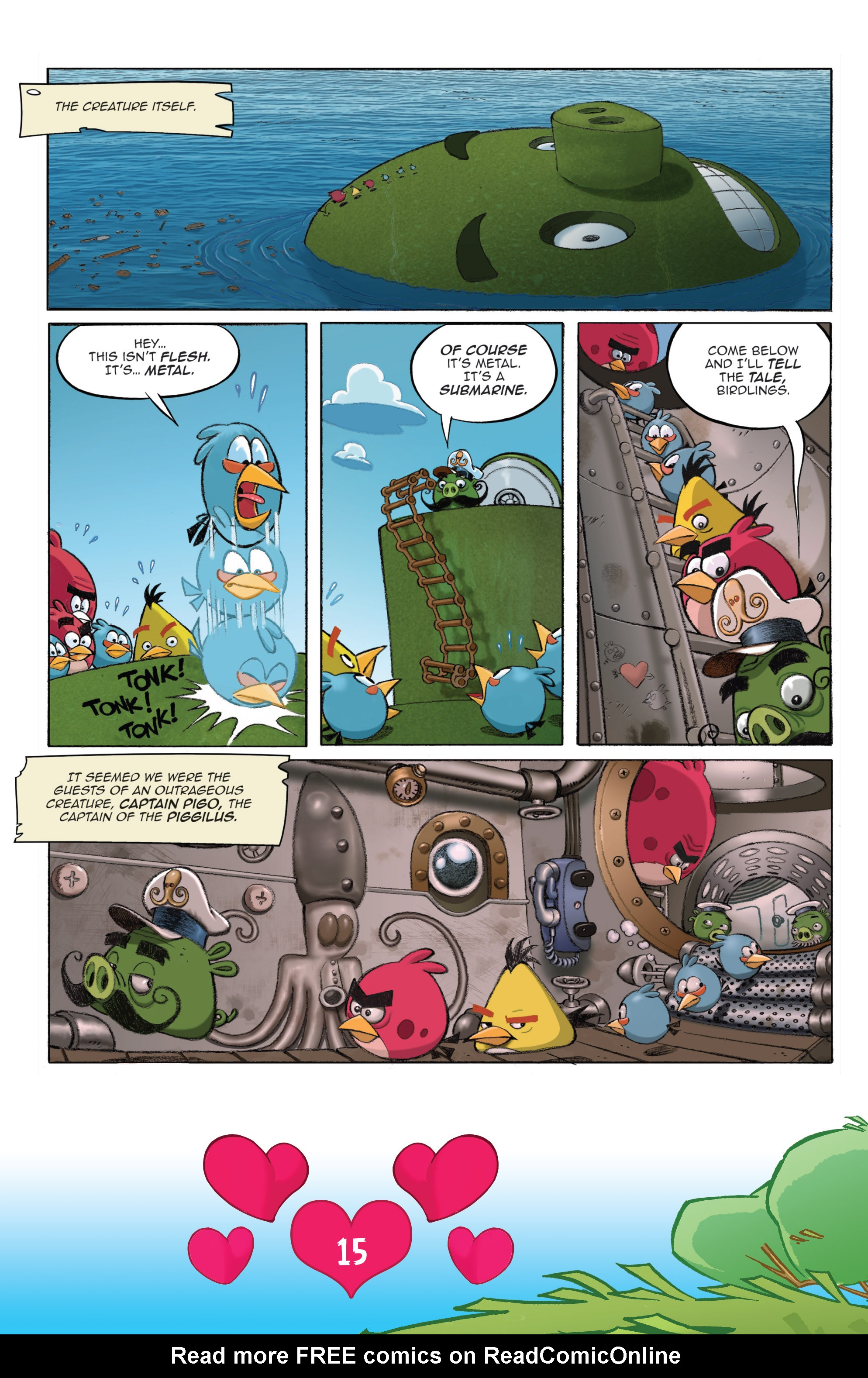 Read online Angry Birds Comics (2016) comic -  Issue #2 - 17