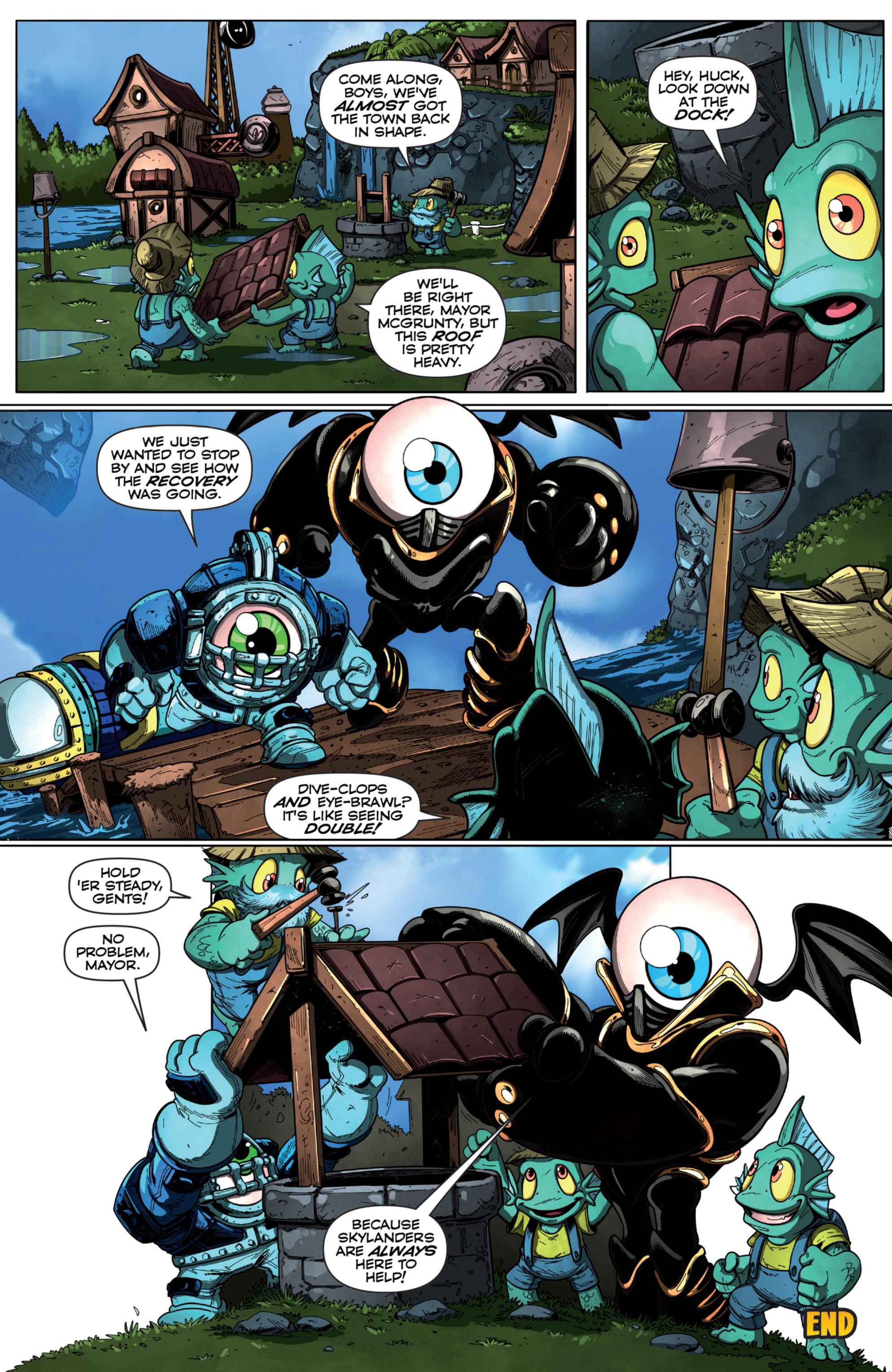 Read online Skylanders Superchargers comic -  Issue #6 - 17