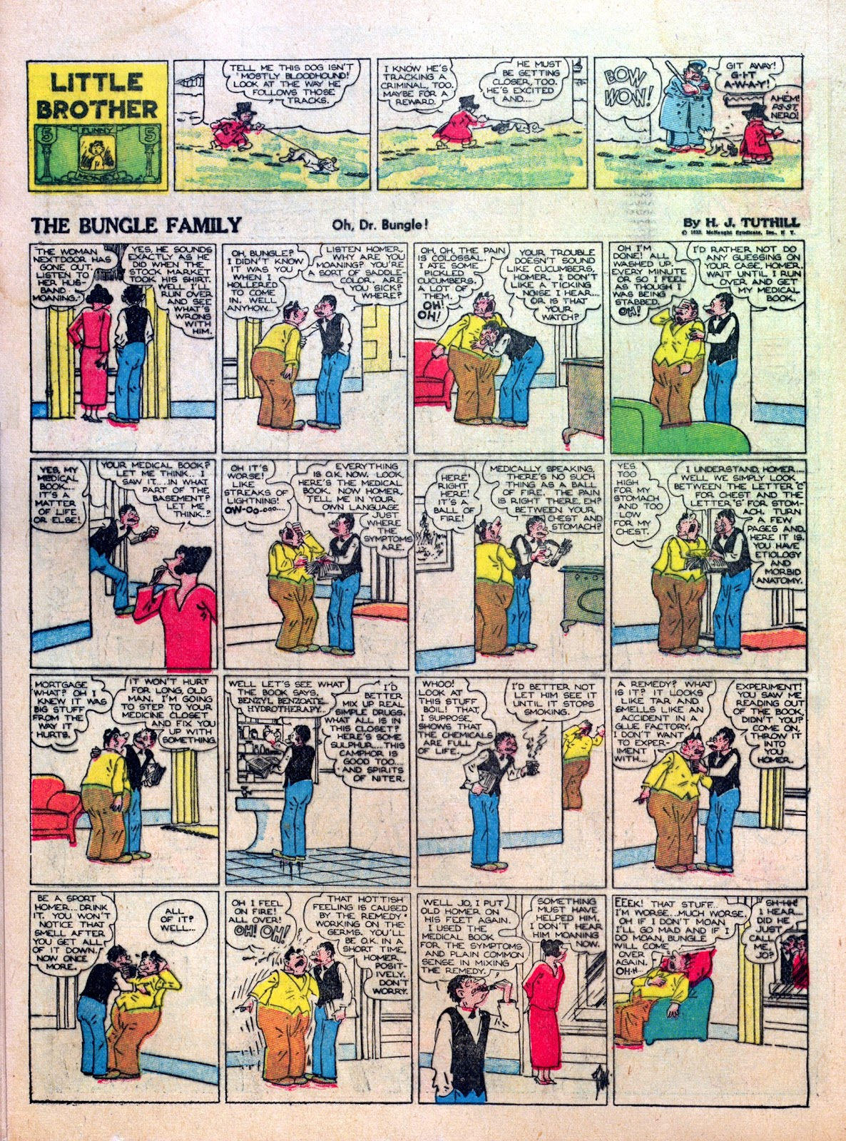 Read online Famous Funnies comic -  Issue #8 - 36