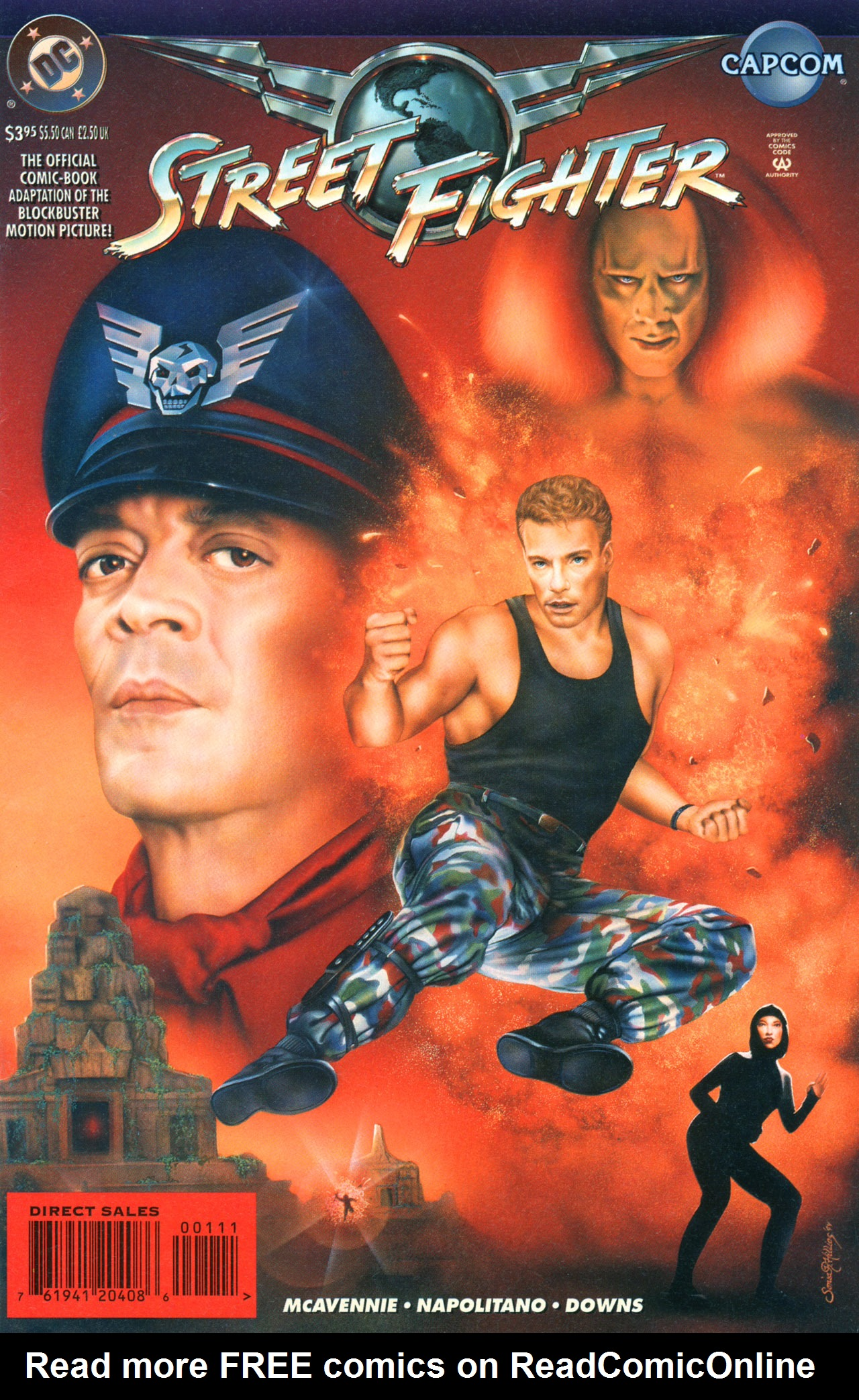 Read online Street Fighter: The Battle For Shadaloo comic -  Issue # Full - 1
