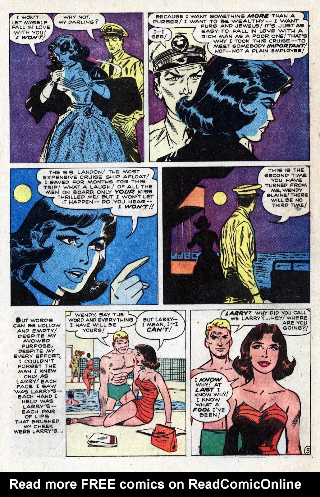 Love Romances (1949) issue 95 - Page 17