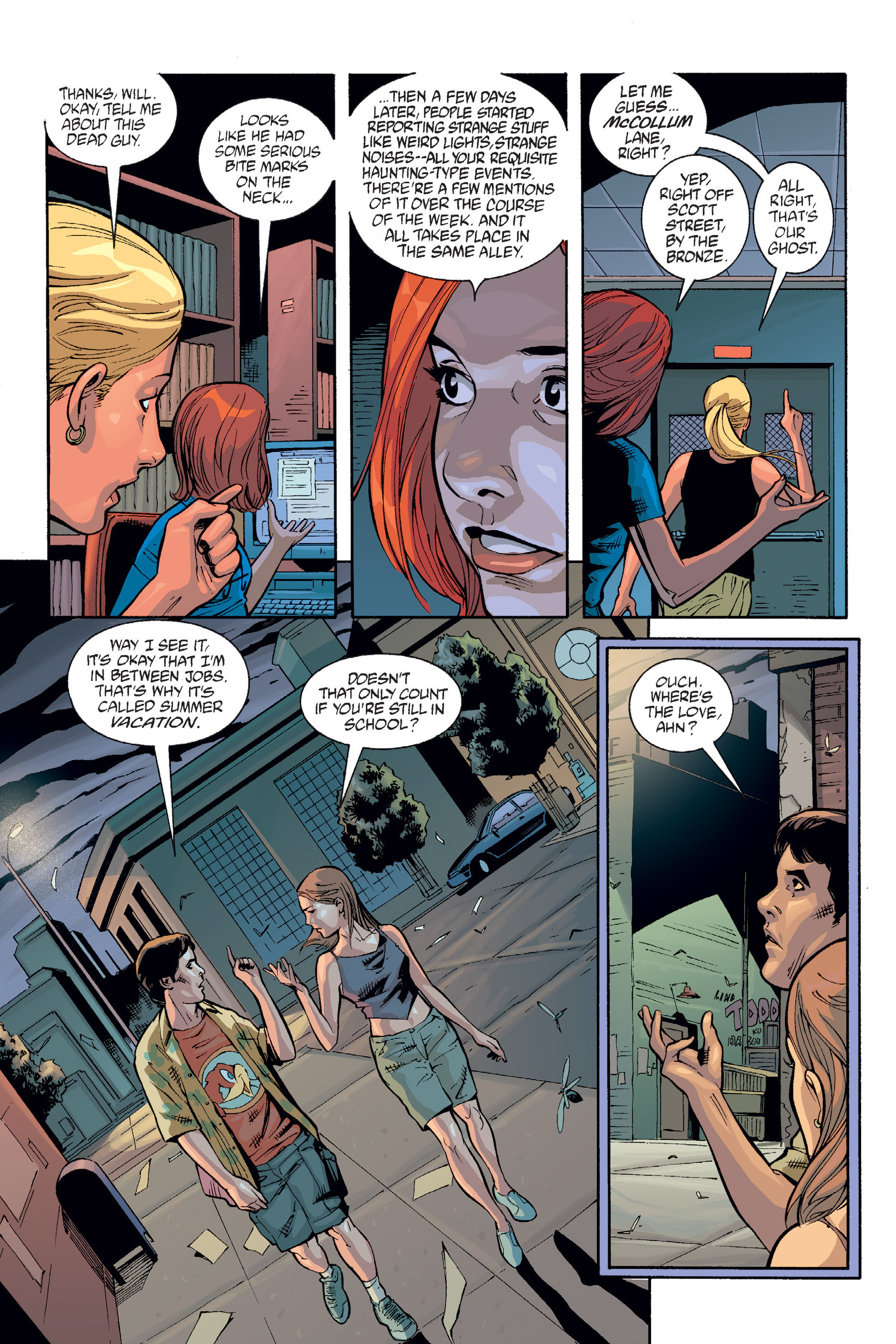 Read online Buffy the Vampire Slayer: Omnibus comic -  Issue # TPB 6 - 193
