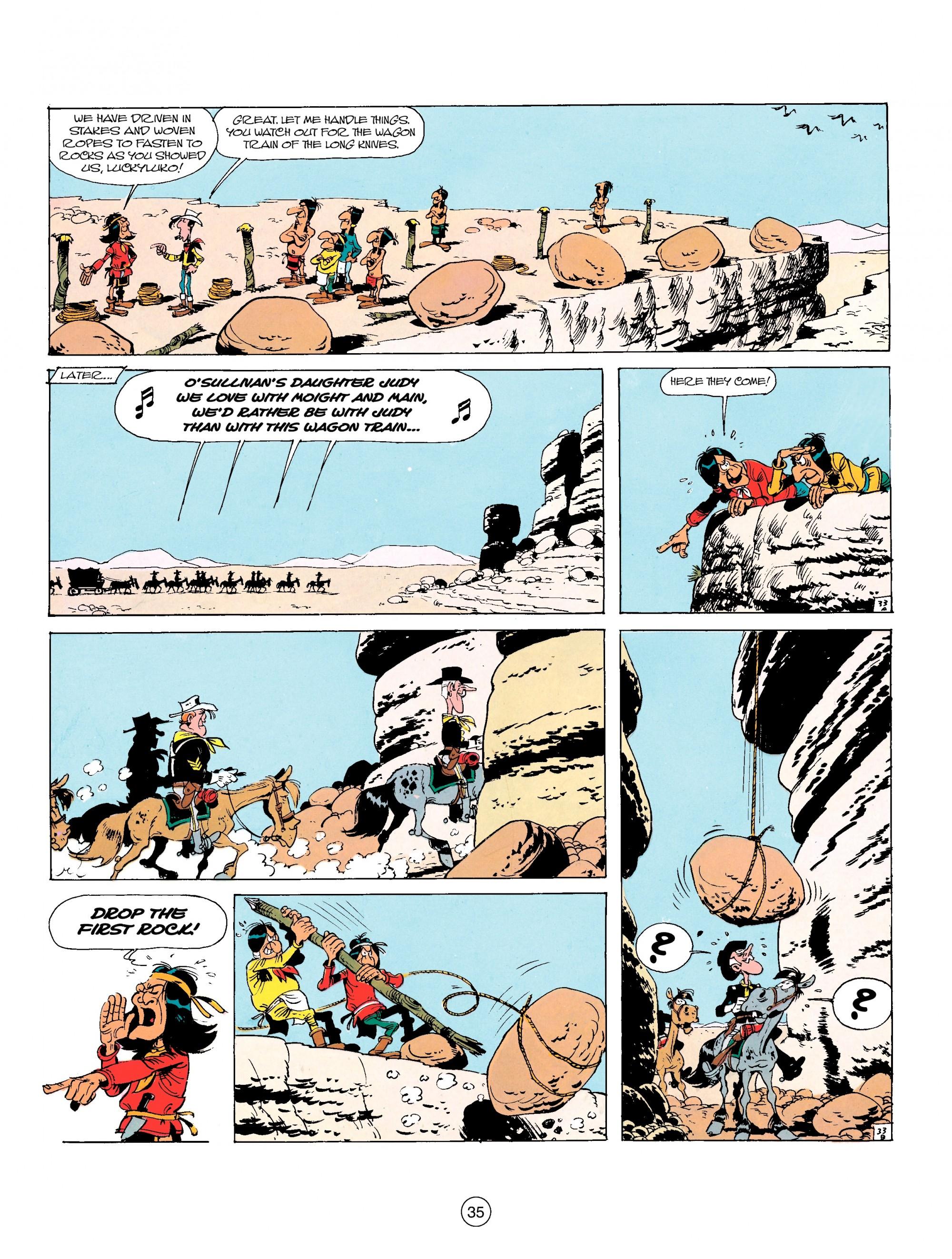 Read online A Lucky Luke Adventure comic -  Issue #17 - 35