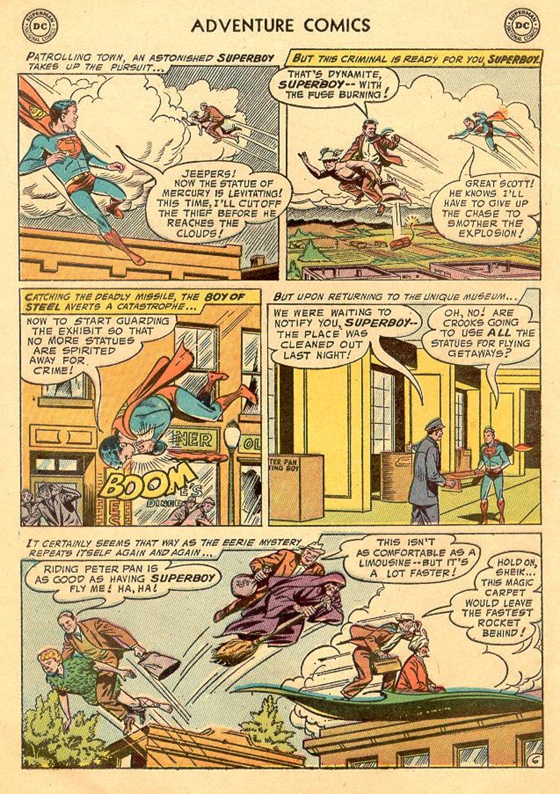 Read online Adventure Comics (1938) comic -  Issue #226 - 8