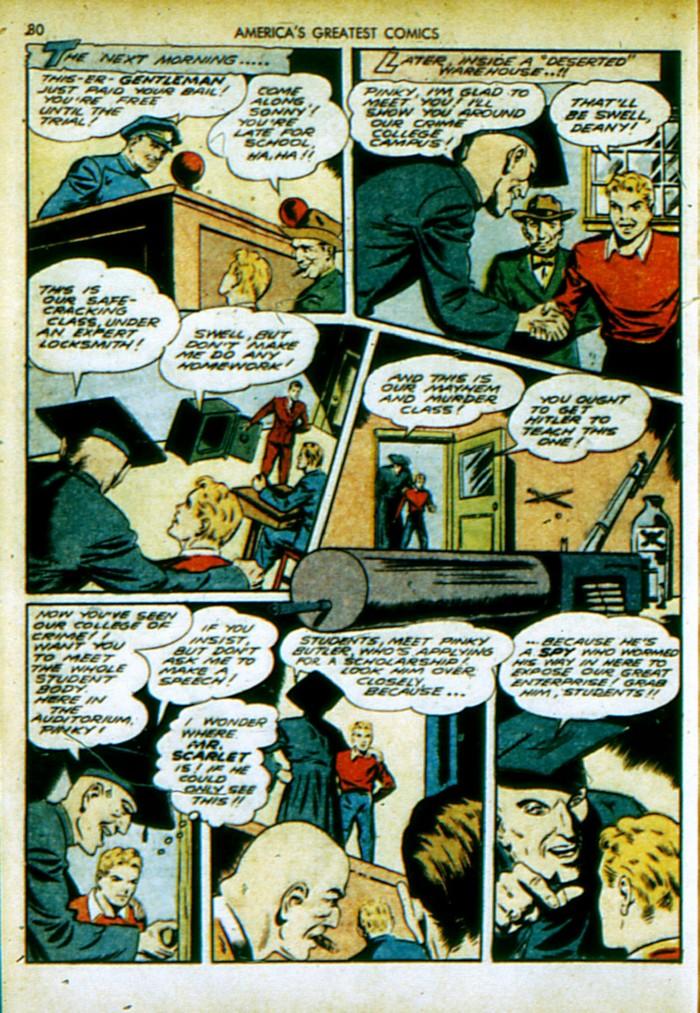 Read online America's Greatest Comics comic -  Issue #4 - 81