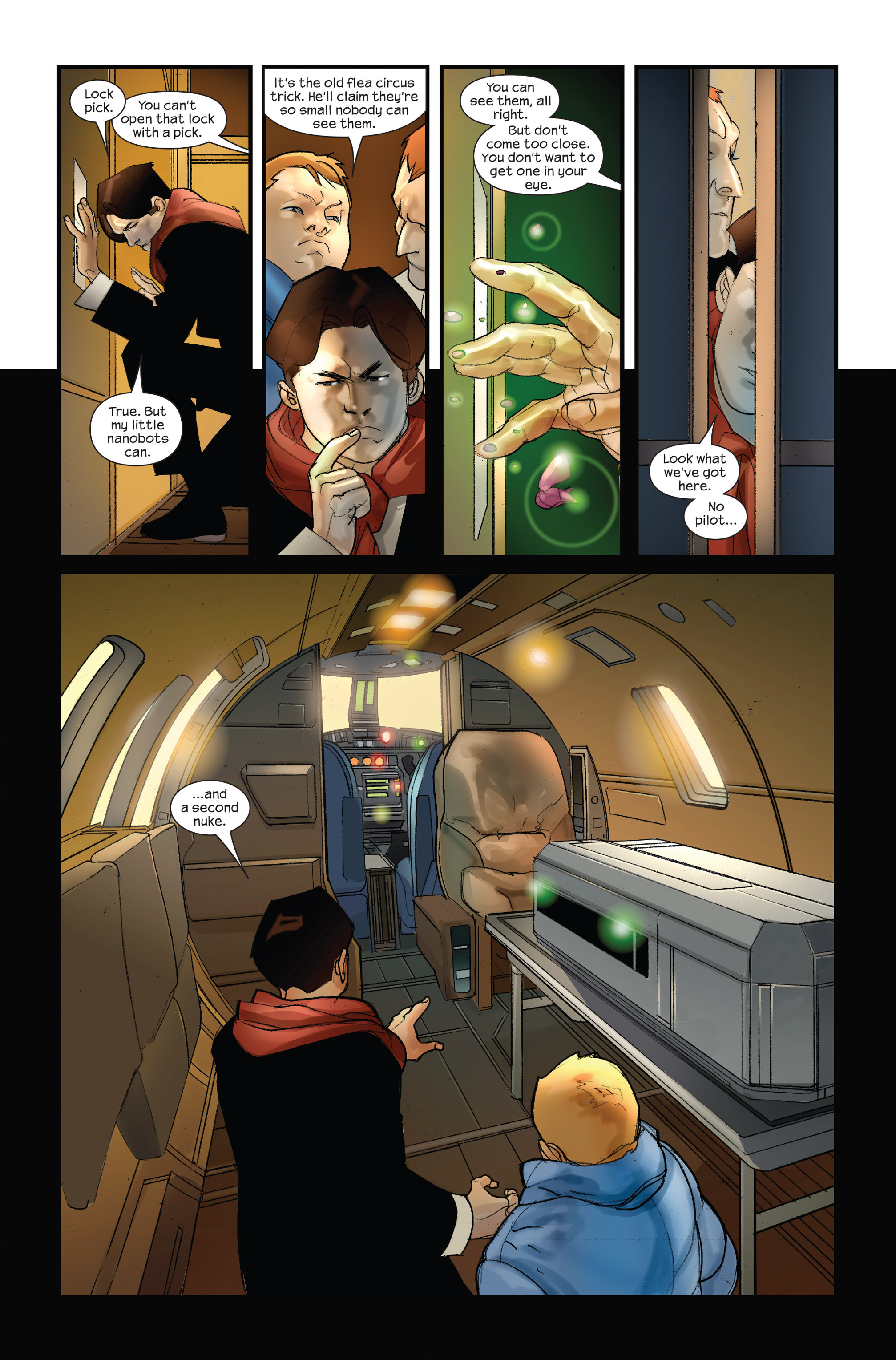 Read online Ultimate Iron Man II comic -  Issue #3 - 24